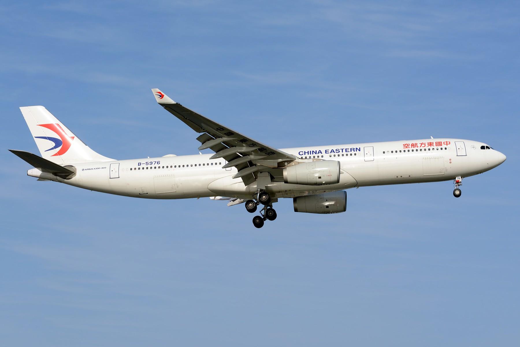 [原创]【SHA】4月难得的好天,杂图几张 AIRBUS A330-300 B-5976 中国上海虹桥国际机场