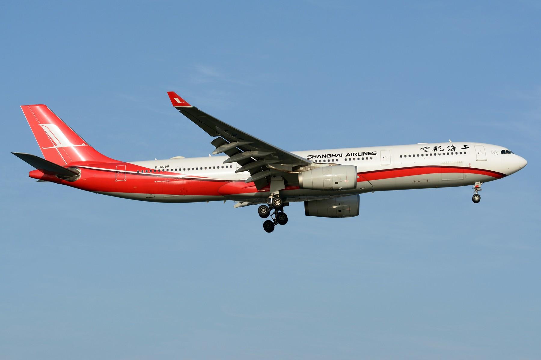 Re:[原创]【SHA】4月难得的好天,杂图几张 AIRBUS A330-300 B-6096 中国上海虹桥国际机场