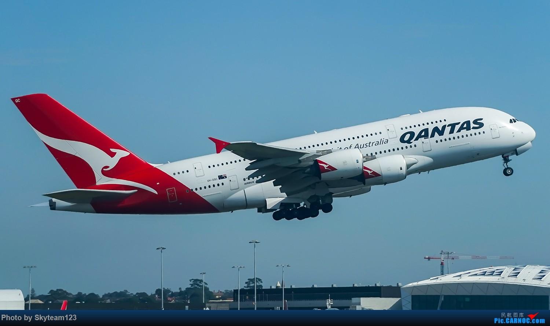 Re:[原创]SYD 2号航站楼随拍 天气很好,好货不少 AIRBUS A380-800 VH-OQC 澳大利亚悉尼金斯福德·史密斯机场
