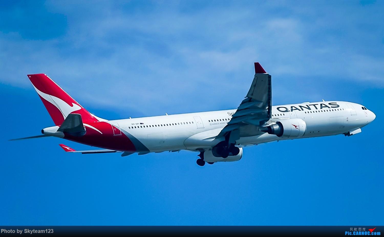 Re:[原创]SYD 2号航站楼随拍 天气很好,好货不少 AIRBUS A330-300 VH-QPI 澳大利亚悉尼金斯福德·史密斯机场