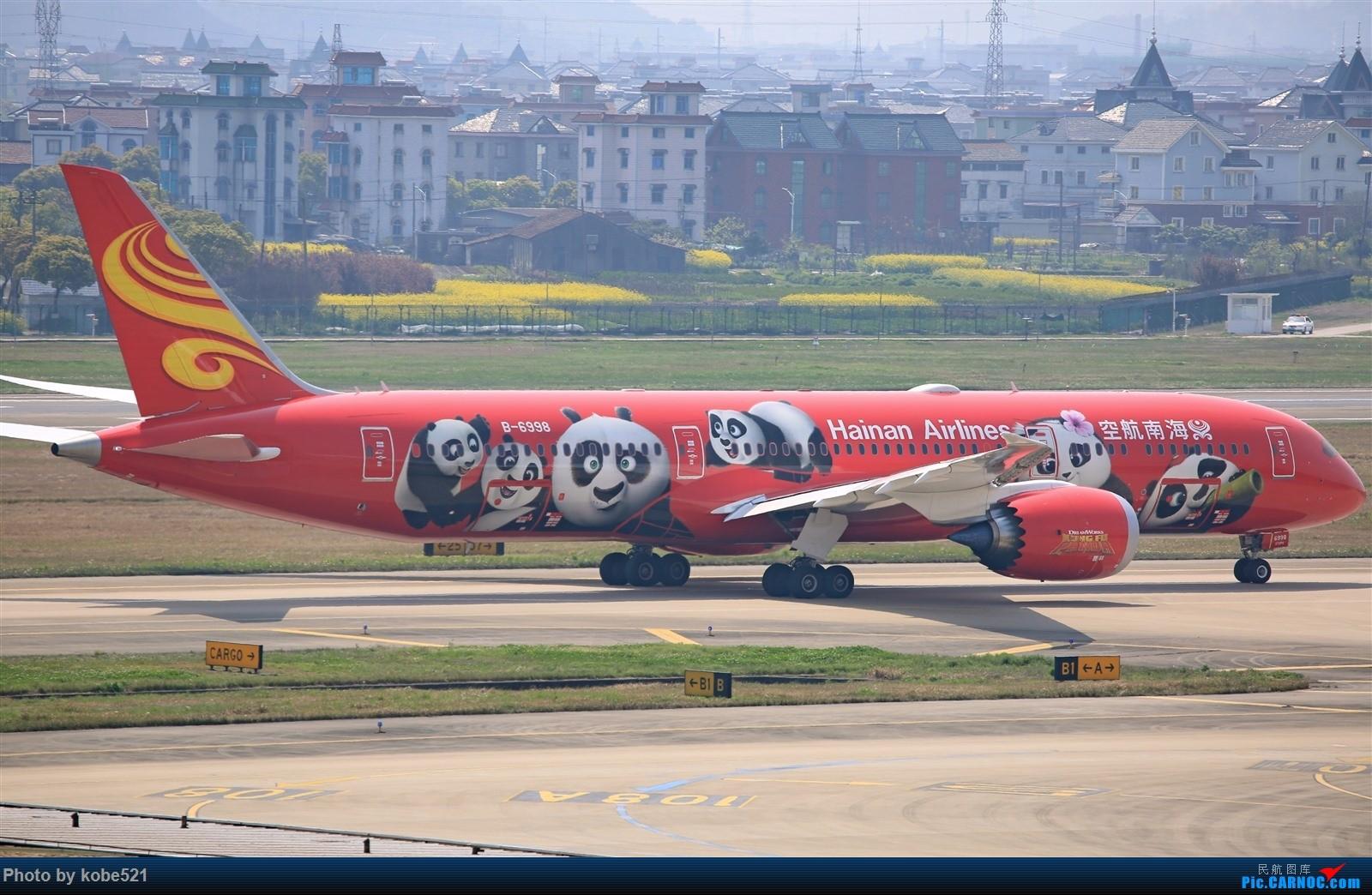 Re:一组功夫熊猫宣告回归论坛~ BOEING 787-9 B-6998 中国杭州萧山国际机场