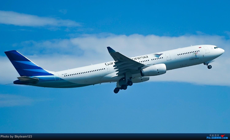 Re:[原创]SYD 2号航站楼随拍 天气很好,好货不少 AIRBUS A330-300 PK-GPV 澳大利亚悉尼金斯福德·史密斯机场