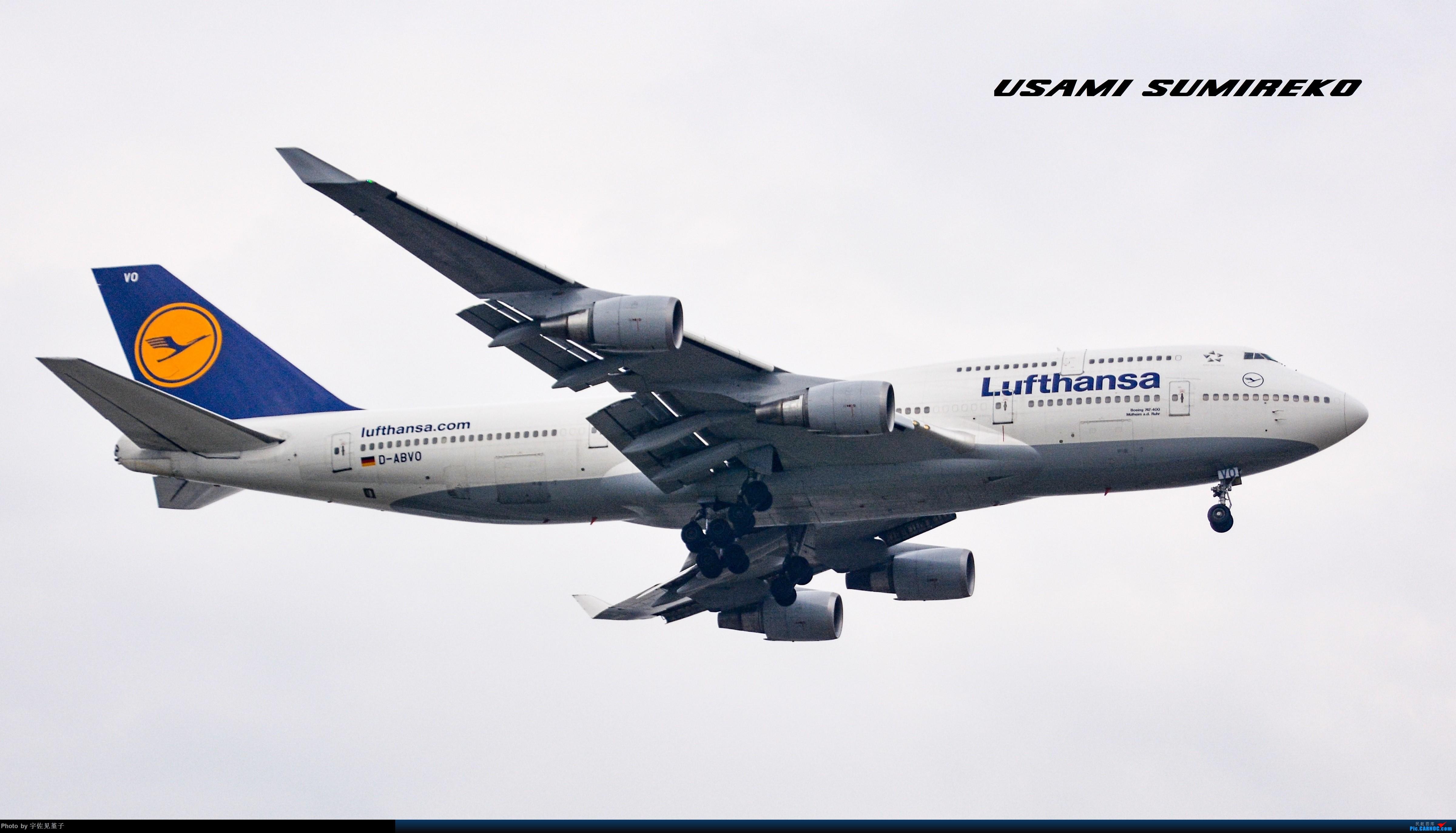 Re:[原创]暴力解决几架747 BOEING 747-400 D-ABVO 上海浦东国际机场