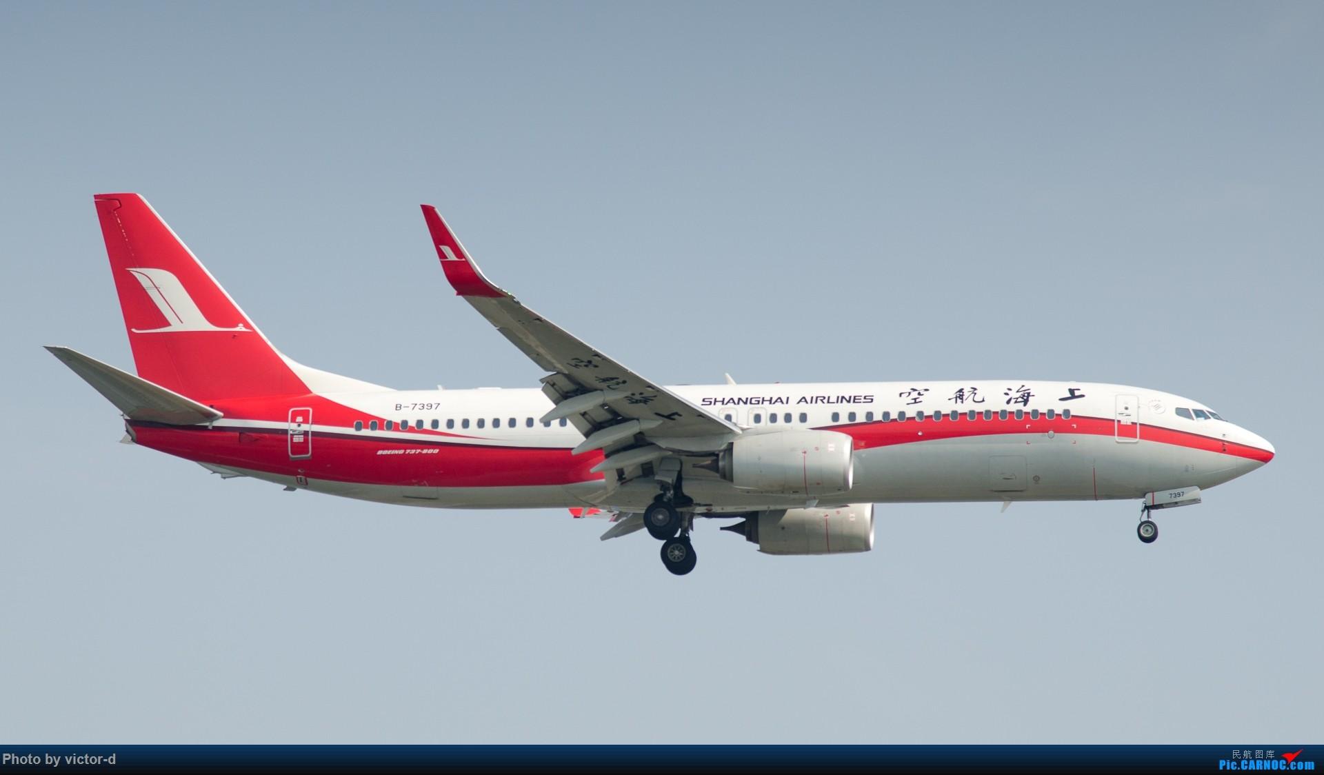 Re:[原创]【上海】拍机记录帖-记录这些年拍到的飞机 BOEING 737-800 B-7397 中国上海虹桥国际机场