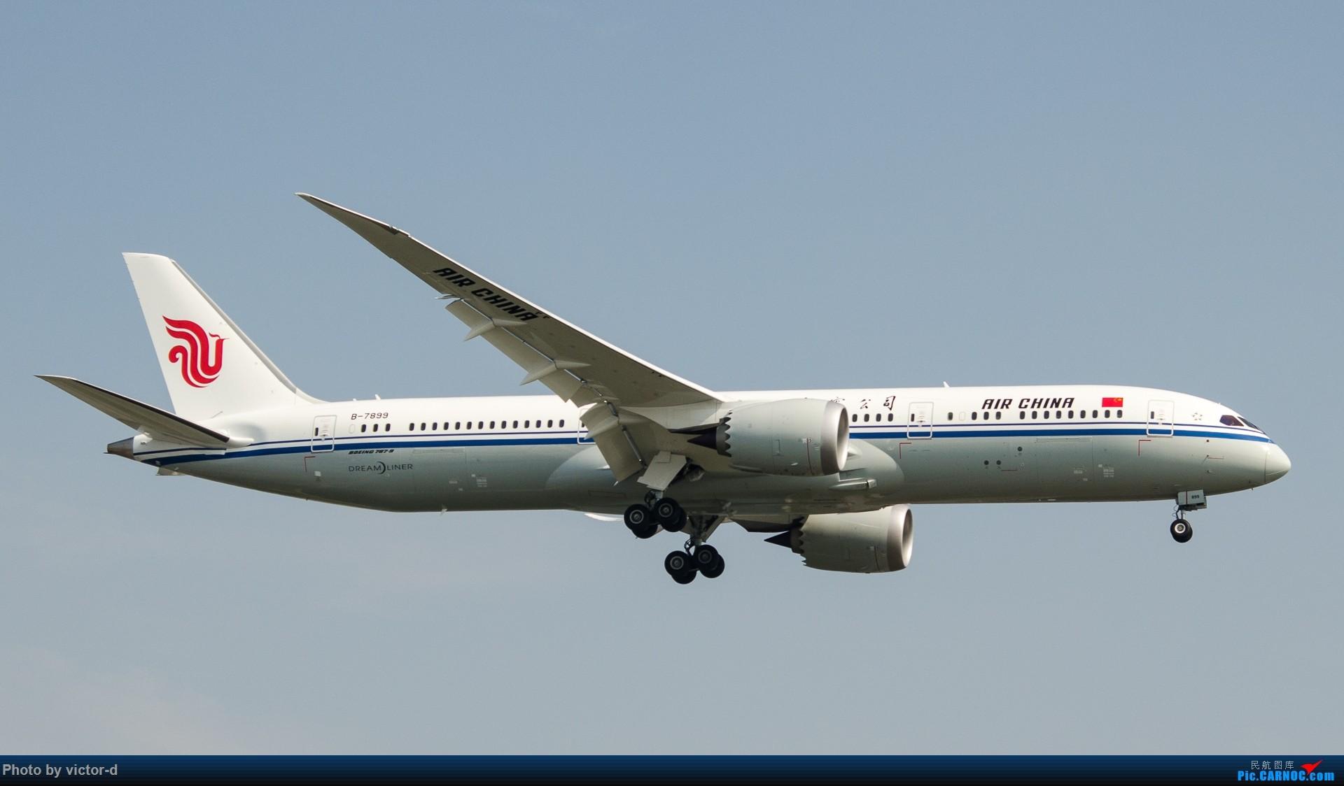 Re:[原创]【上海】拍机记录帖-记录这些年拍到的飞机 BOEING 787-9 B-7899 中国上海虹桥国际机场