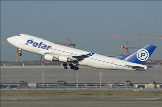【PVG】一图党之极地货运747-400F强势拉起