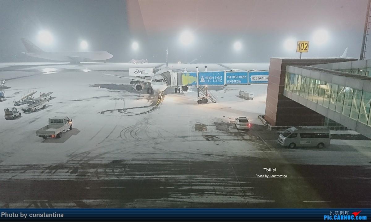 Re:[原创]【Constantina】高加索之行4(高加索古都——第比利斯) AIRBUS A320  格鲁吉亚第比利斯机场