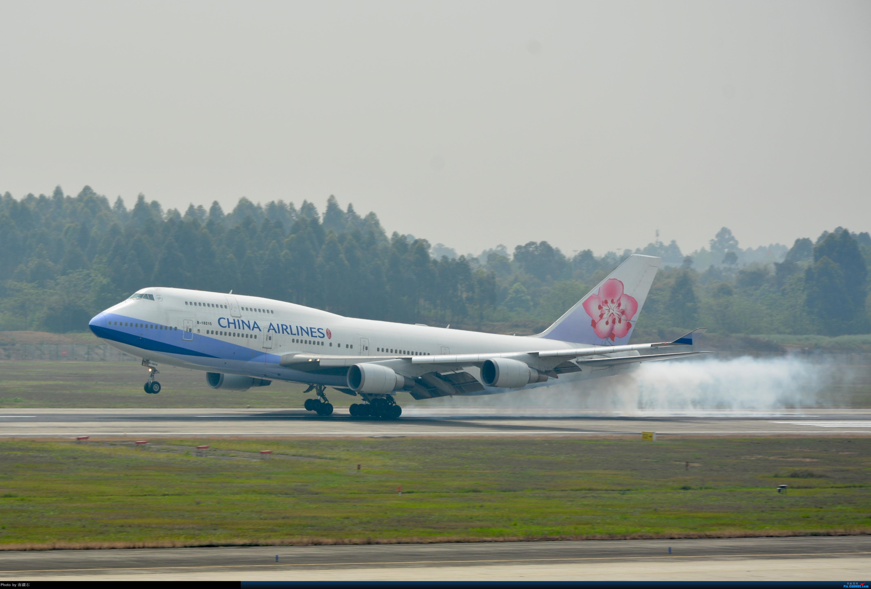 Re:CTU 华航744霸气擦烟 BOEING 747-400 B-18215 中国成都双流国际机场