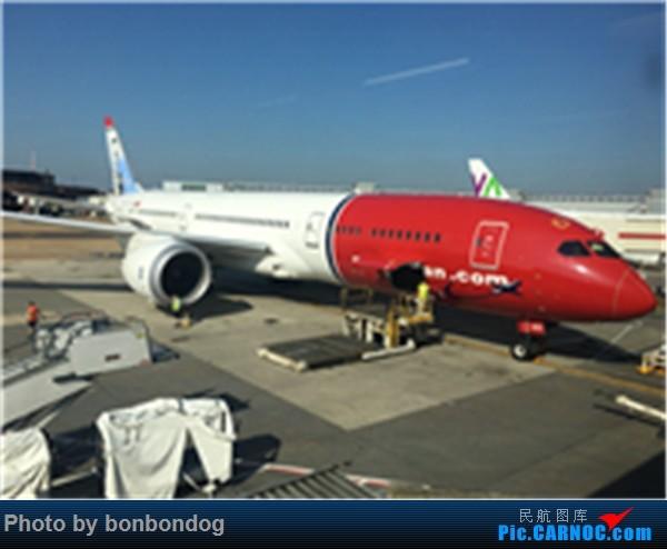 Re:[原创]挪威航空 LGW-BOS BOEING 787-9  LGW