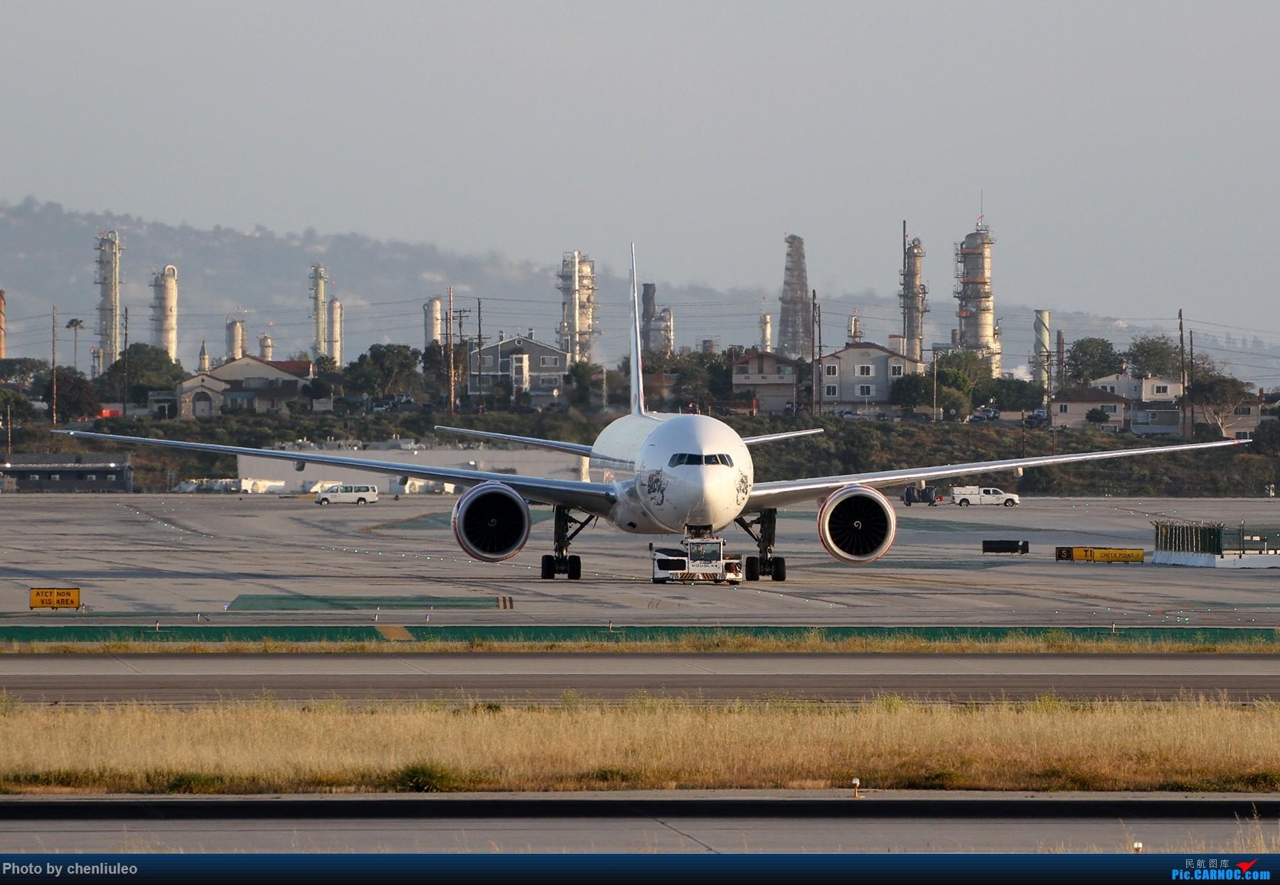 Re:【北美飞友会】洛杉矶世界机场黄昏随拍 BOEING 777-300ER  美国洛杉矶机场