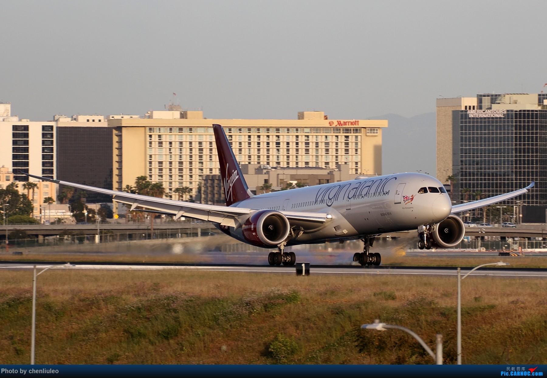 Re:【北美飞友会】洛杉矶世界机场黄昏随拍 BOEING 787-9 G-VSPY 美国洛杉矶机场