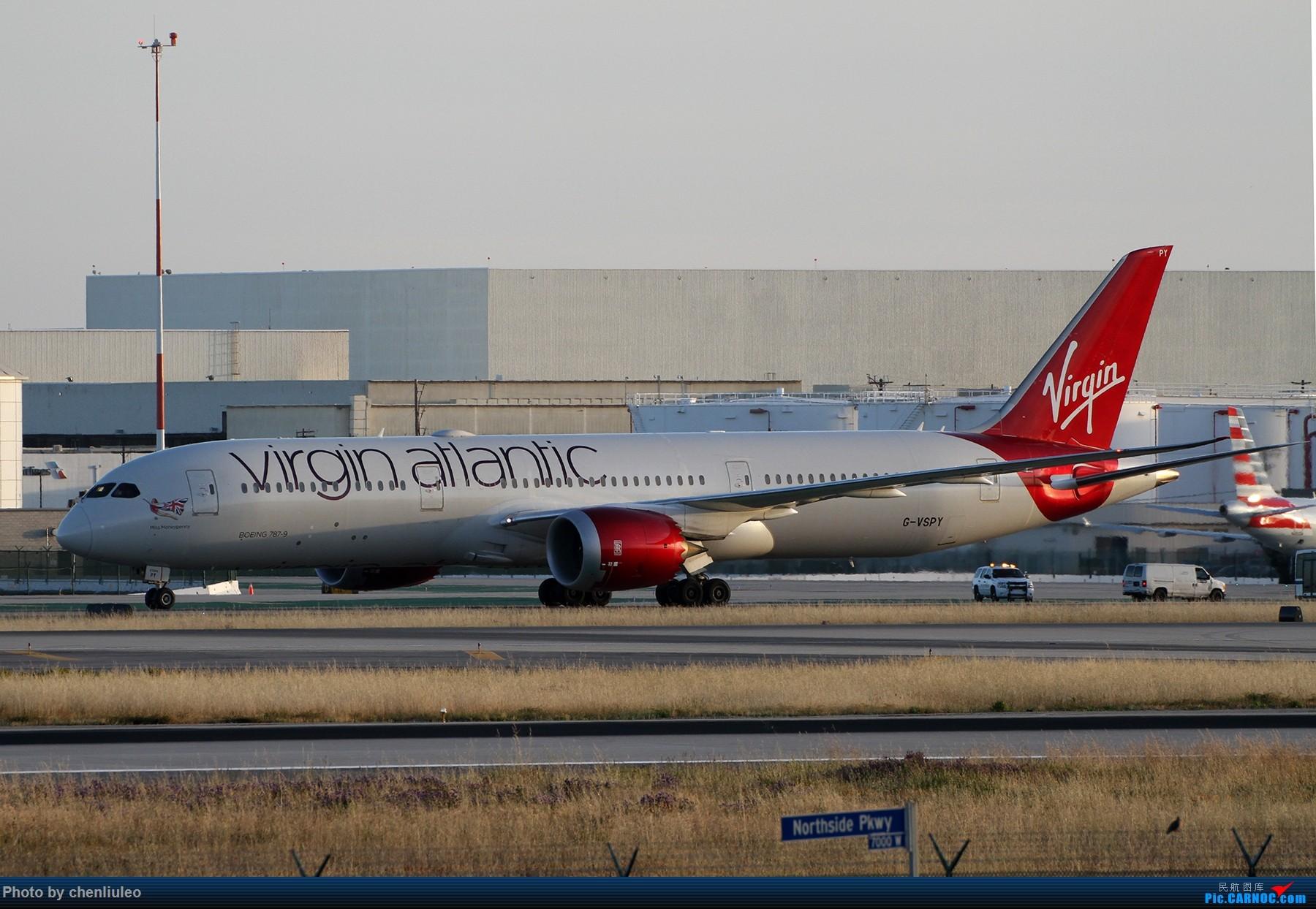 Re:[原创]【北美飞友会】洛杉矶世界机场黄昏随拍 BOEING 787-9 G-VSPY 美国洛杉矶机场