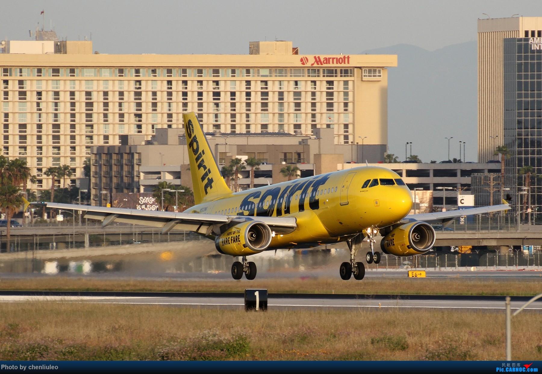 Re:[原创]【北美飞友会】洛杉矶世界机场黄昏随拍 AIRBUS A319-100 N503NK 美国洛杉矶机场