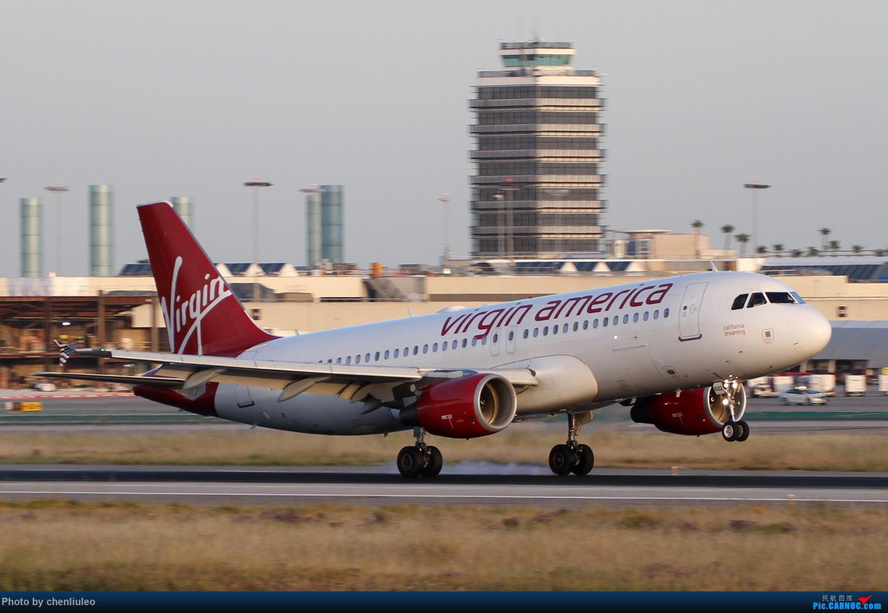 Re:[原创]【北美飞友会】洛杉矶世界机场黄昏随拍 AIRBUS A320-200 N622VA 美国洛杉矶机场