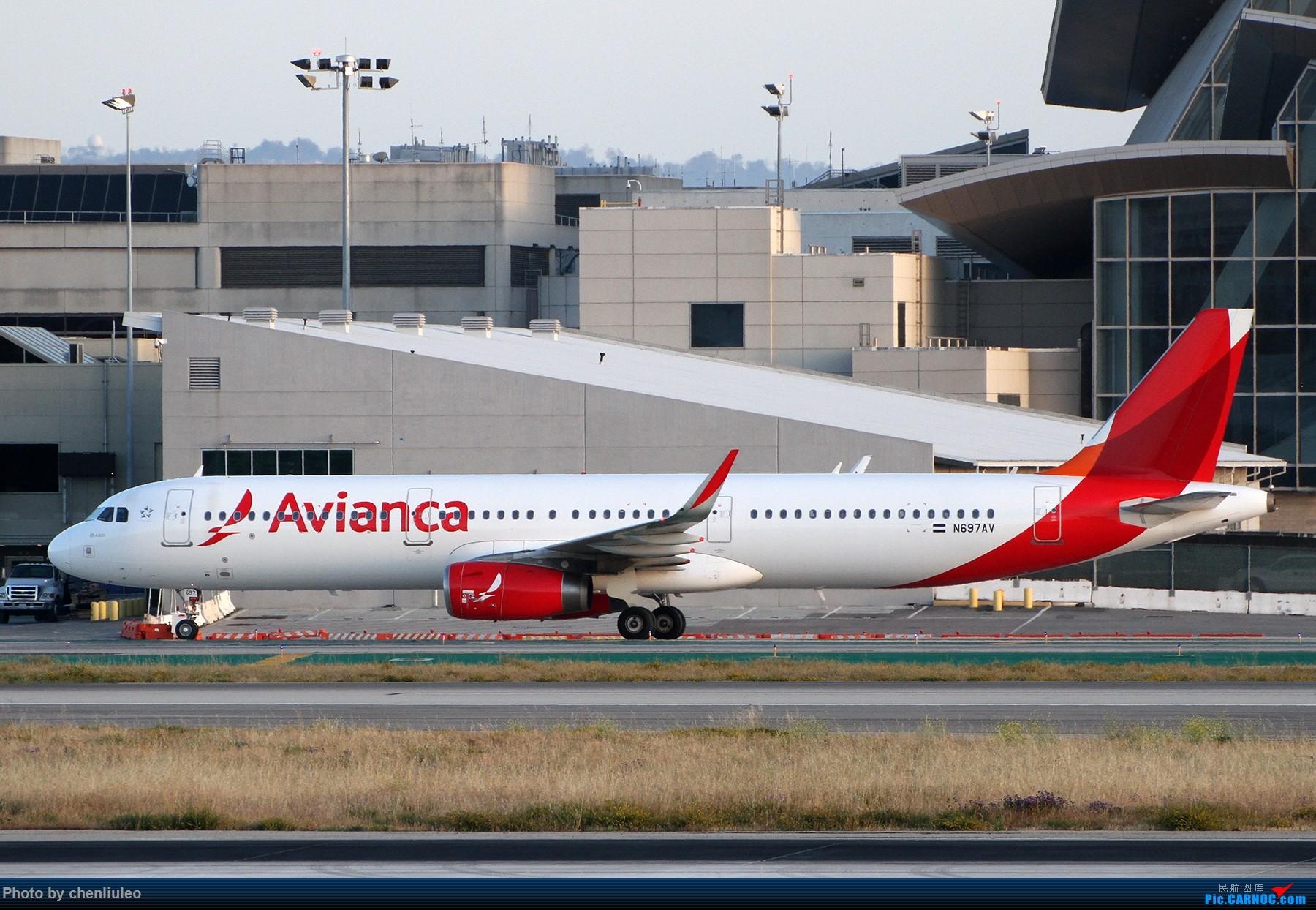 Re:[原创]【北美飞友会】洛杉矶世界机场黄昏随拍 AIRBUS A321-200 N697AV 美国洛杉矶机场