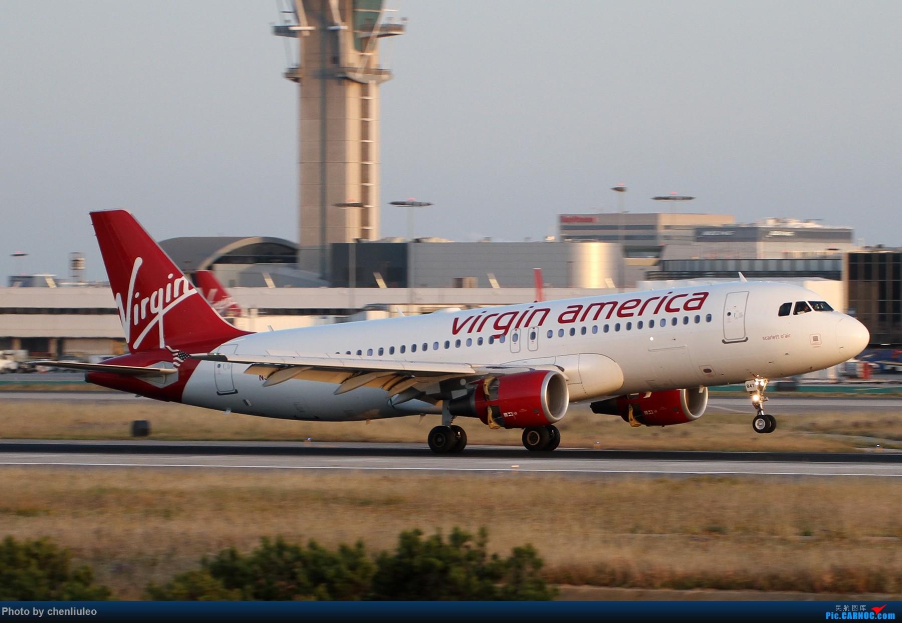 Re:[原创]【北美飞友会】洛杉矶世界机场黄昏随拍 AIRBUS A320-200 N847VA 美国洛杉矶机场
