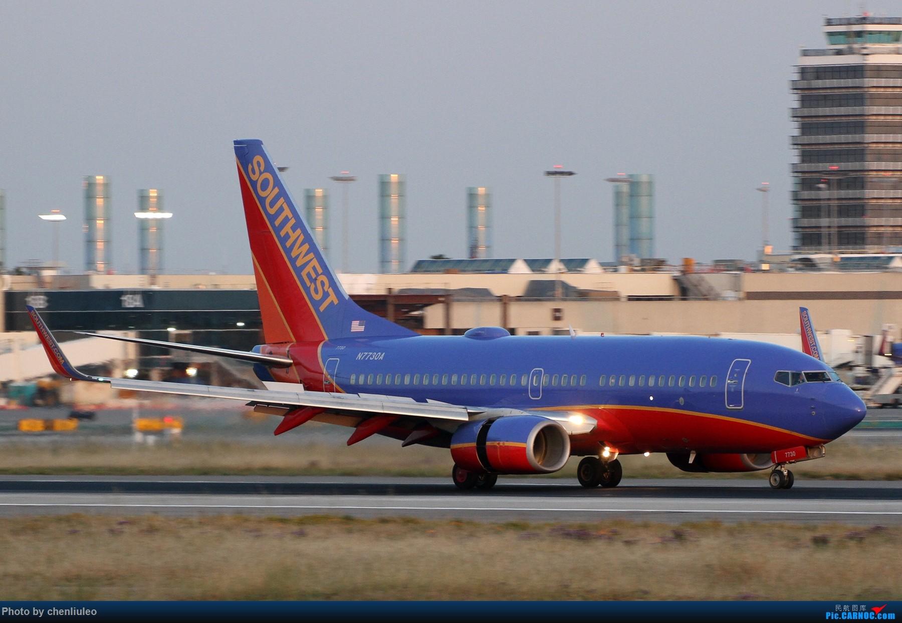 Re:[原创]【北美飞友会】洛杉矶世界机场黄昏随拍 BOEING 737-700 N7730A 美国洛杉矶机场