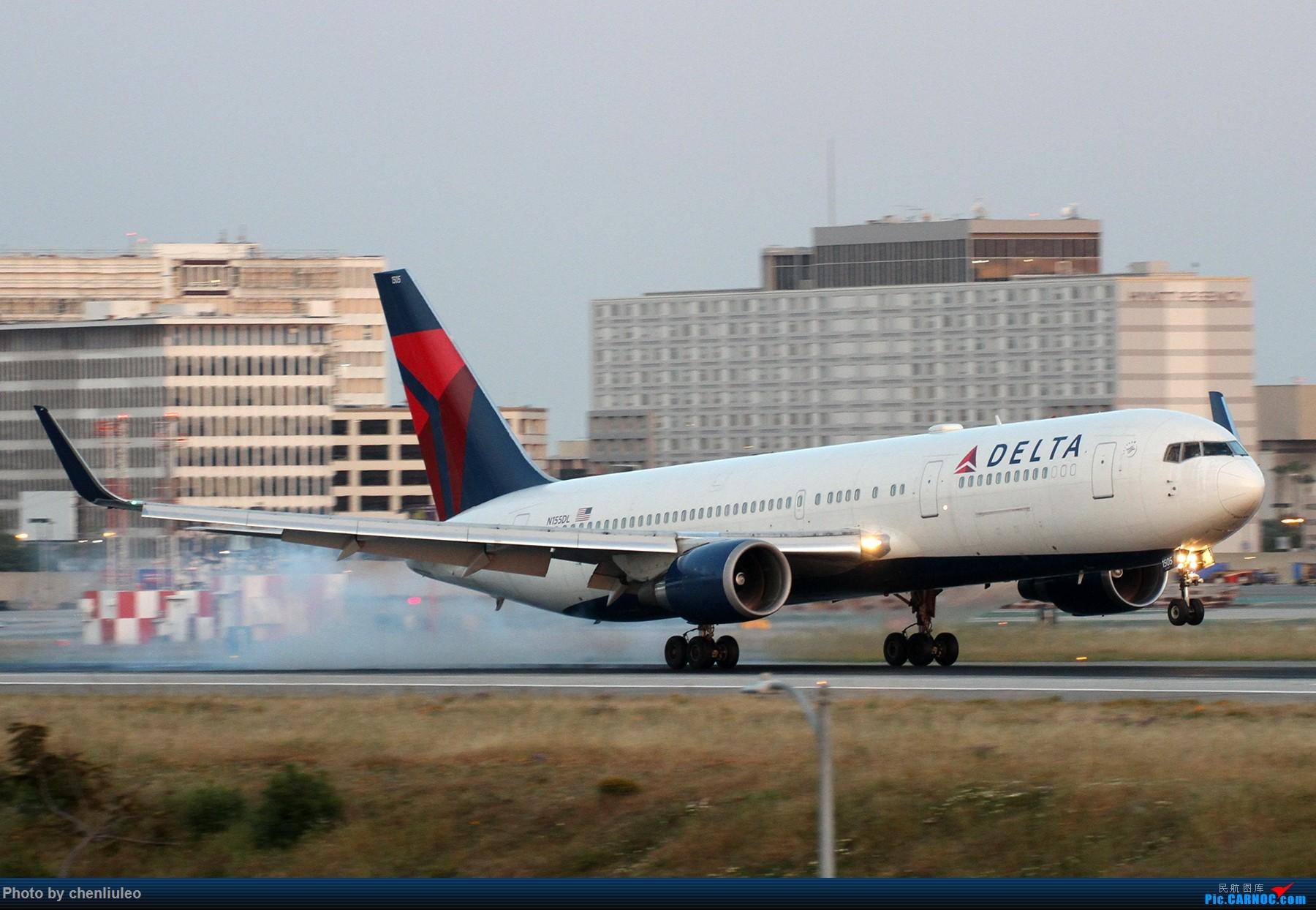 Re:[原创]【北美飞友会】洛杉矶世界机场黄昏随拍 BOEING 767-300ER N155DL 美国洛杉矶机场