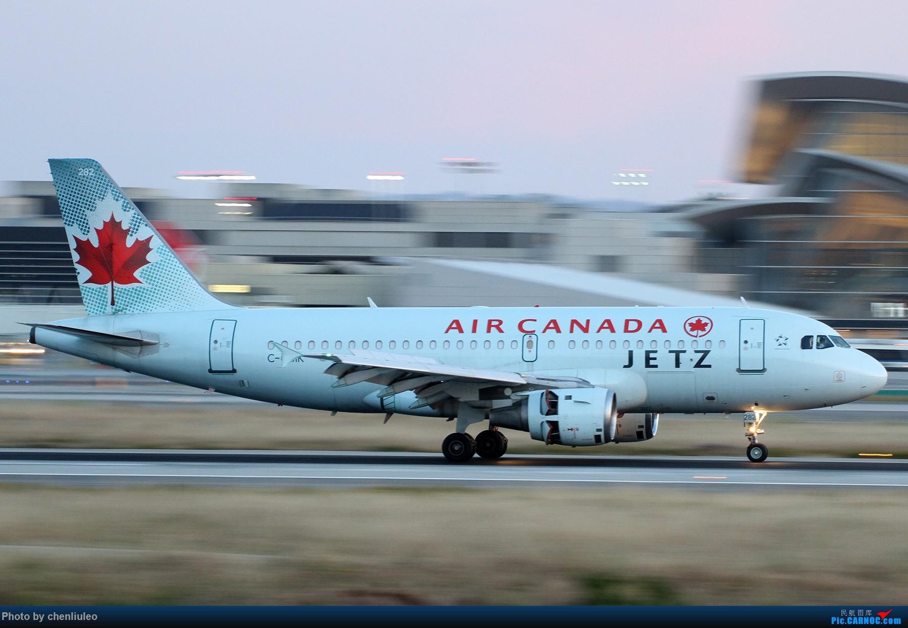 Re:[原创]【北美飞友会】洛杉矶世界机场黄昏随拍 AIRBUS A319-100 C-GBIK 美国洛杉矶机场
