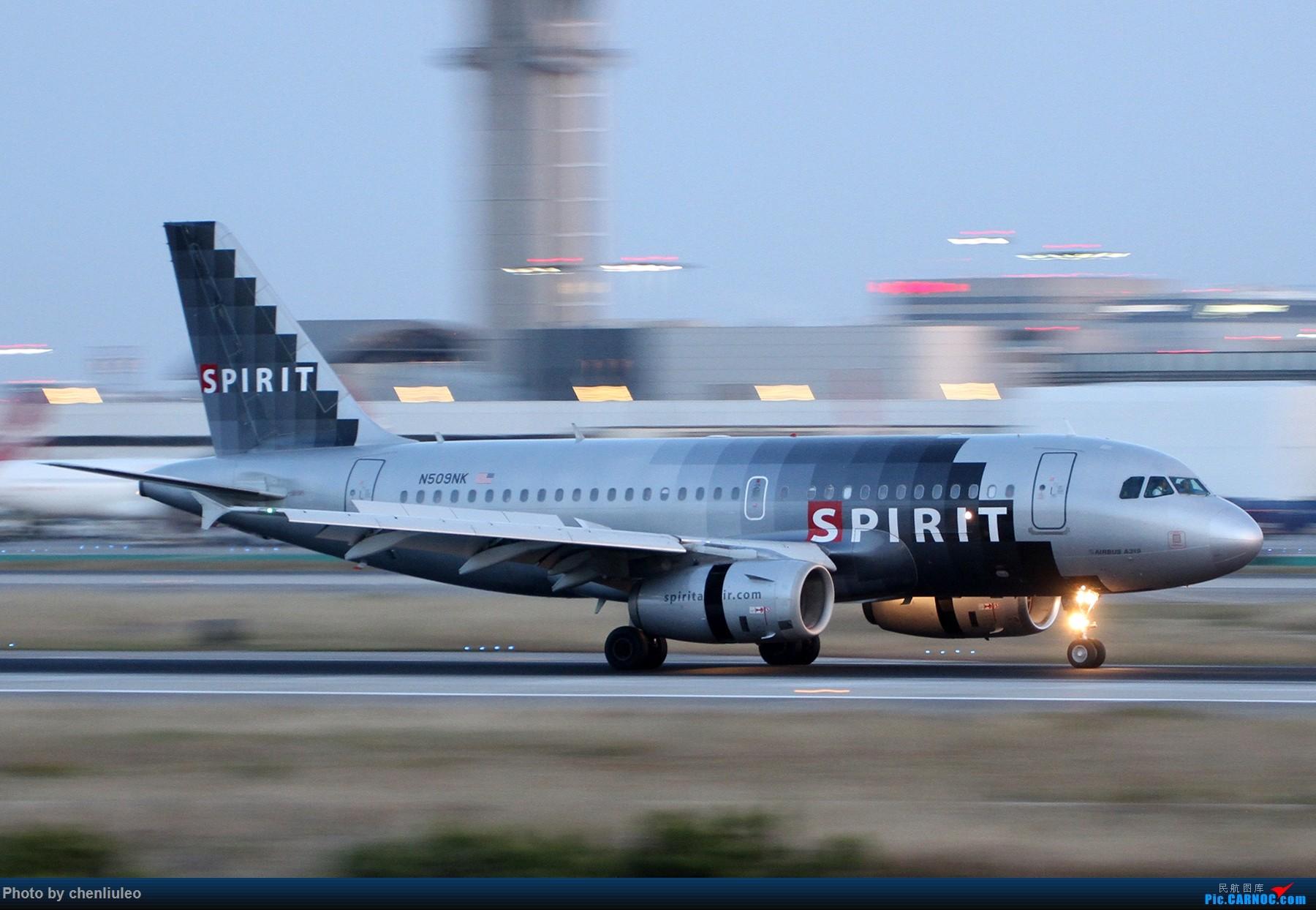 Re:[原创]【北美飞友会】洛杉矶世界机场黄昏随拍 AIRBUS A319-100 N509NK 美国洛杉矶机场