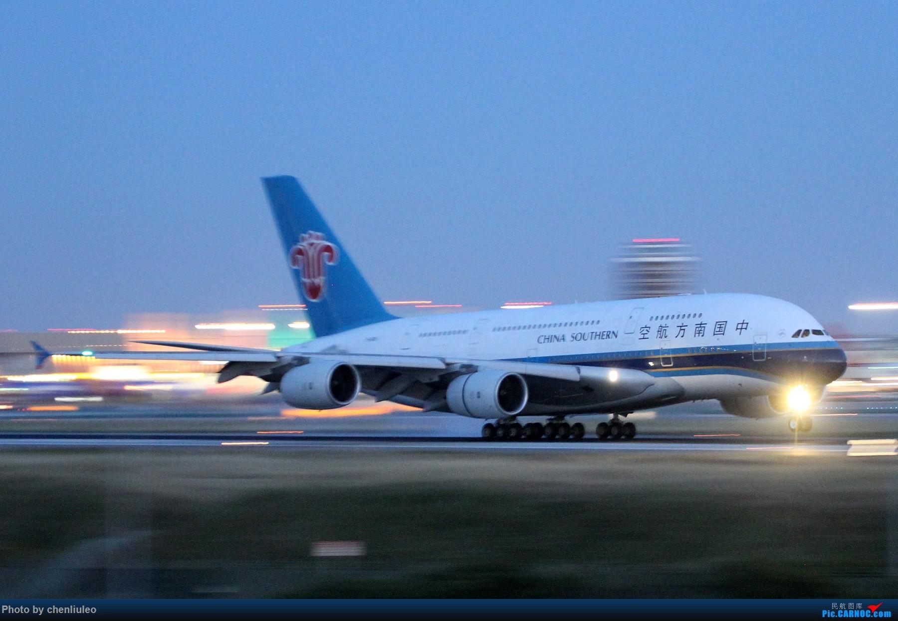 Re:[原创]【北美飞友会】洛杉矶世界机场黄昏随拍 AIRBUS A380-800 B-6138 美国洛杉矶机场