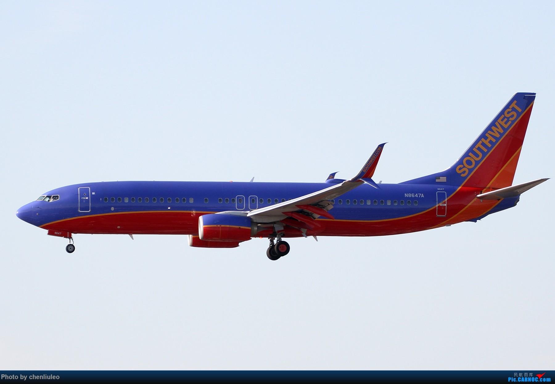 Re:[原创]【北美飞友会】洛杉矶世界机场黄昏随拍 BOEING 737-800 N8647A 美国洛杉矶机场