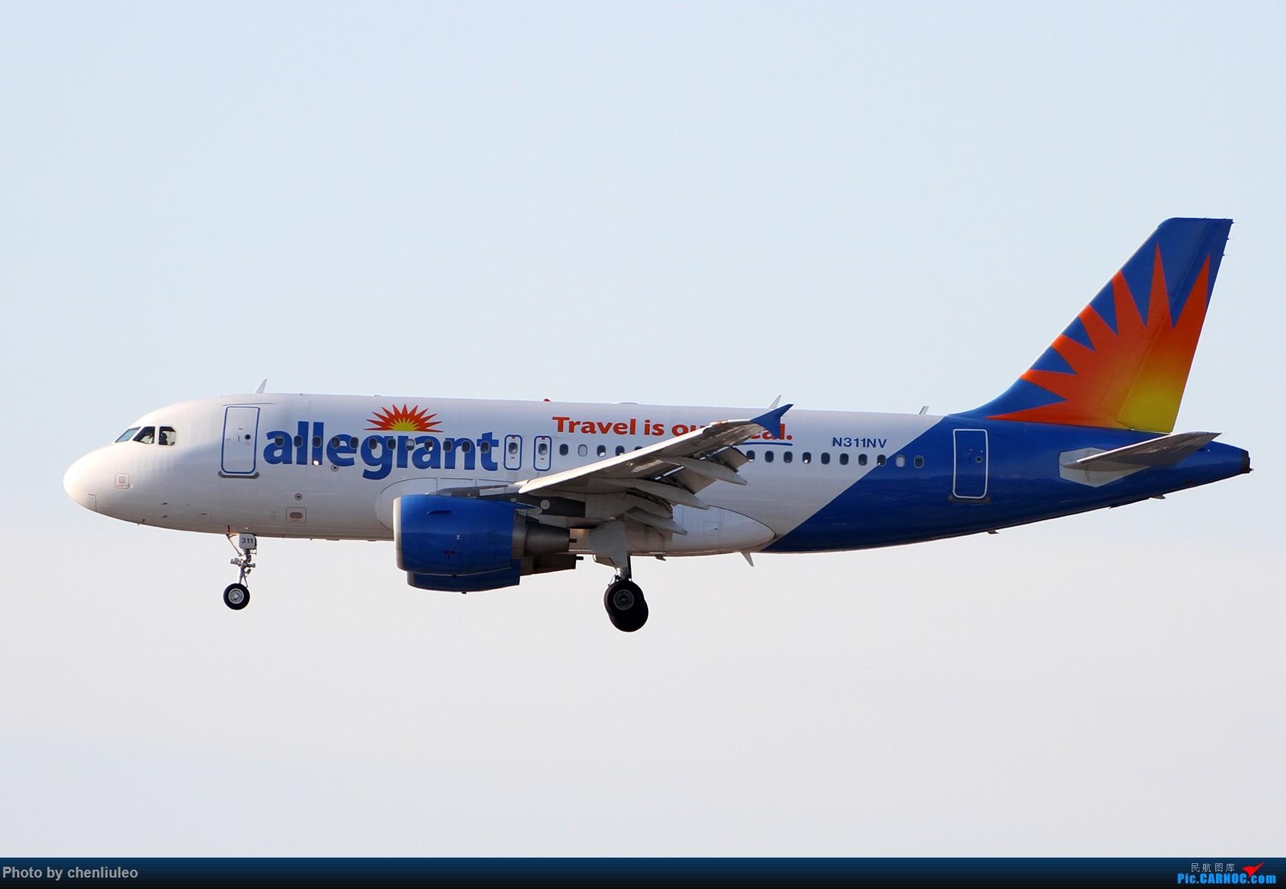 Re:[原创]【北美飞友会】洛杉矶世界机场黄昏随拍 AIRBUS A319-100 N311NV 美国洛杉矶机场