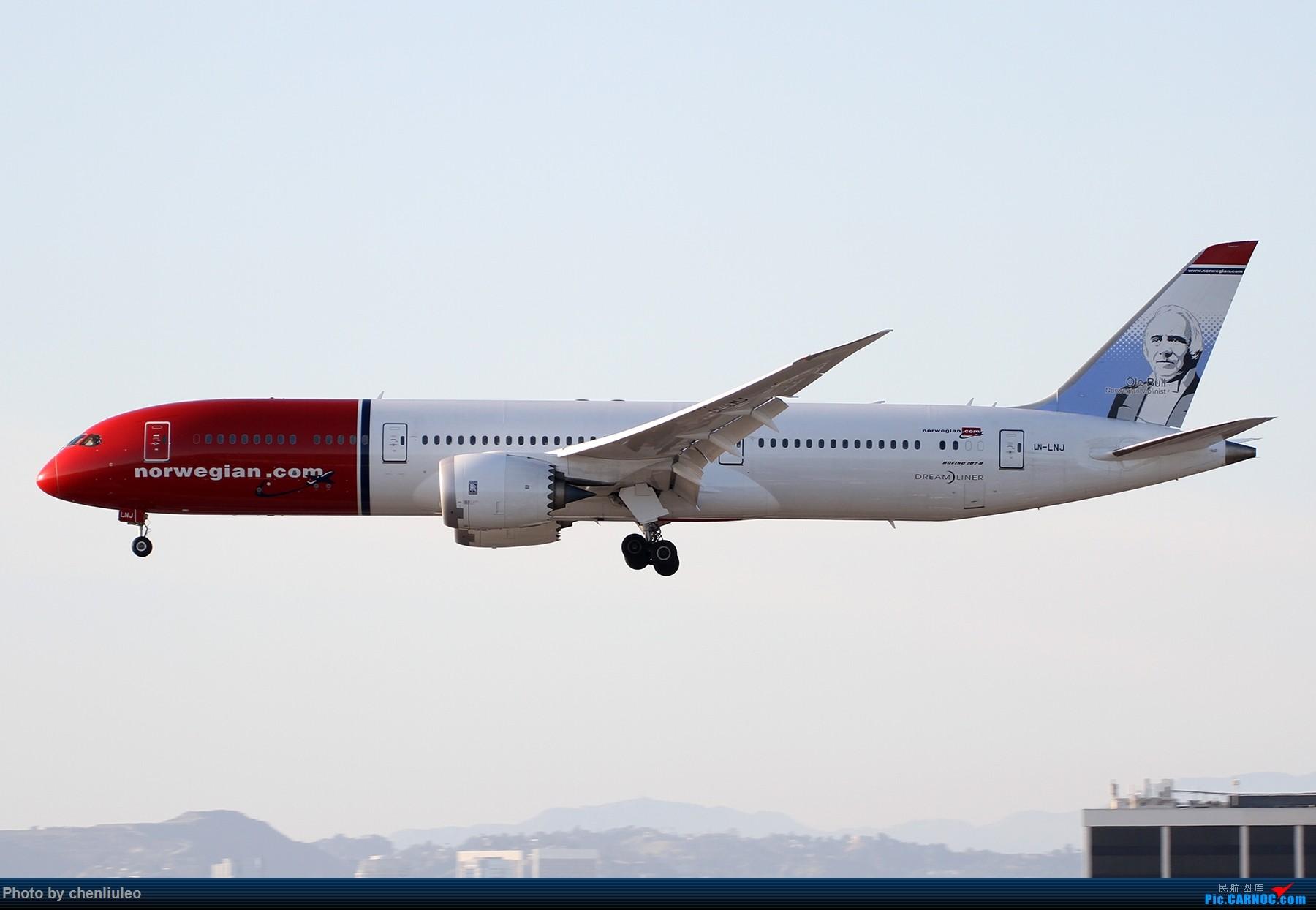 Re:【北美飞友会】洛杉矶世界机场黄昏随拍 BOEING 787-9 LN-LNJ 美国洛杉矶机场