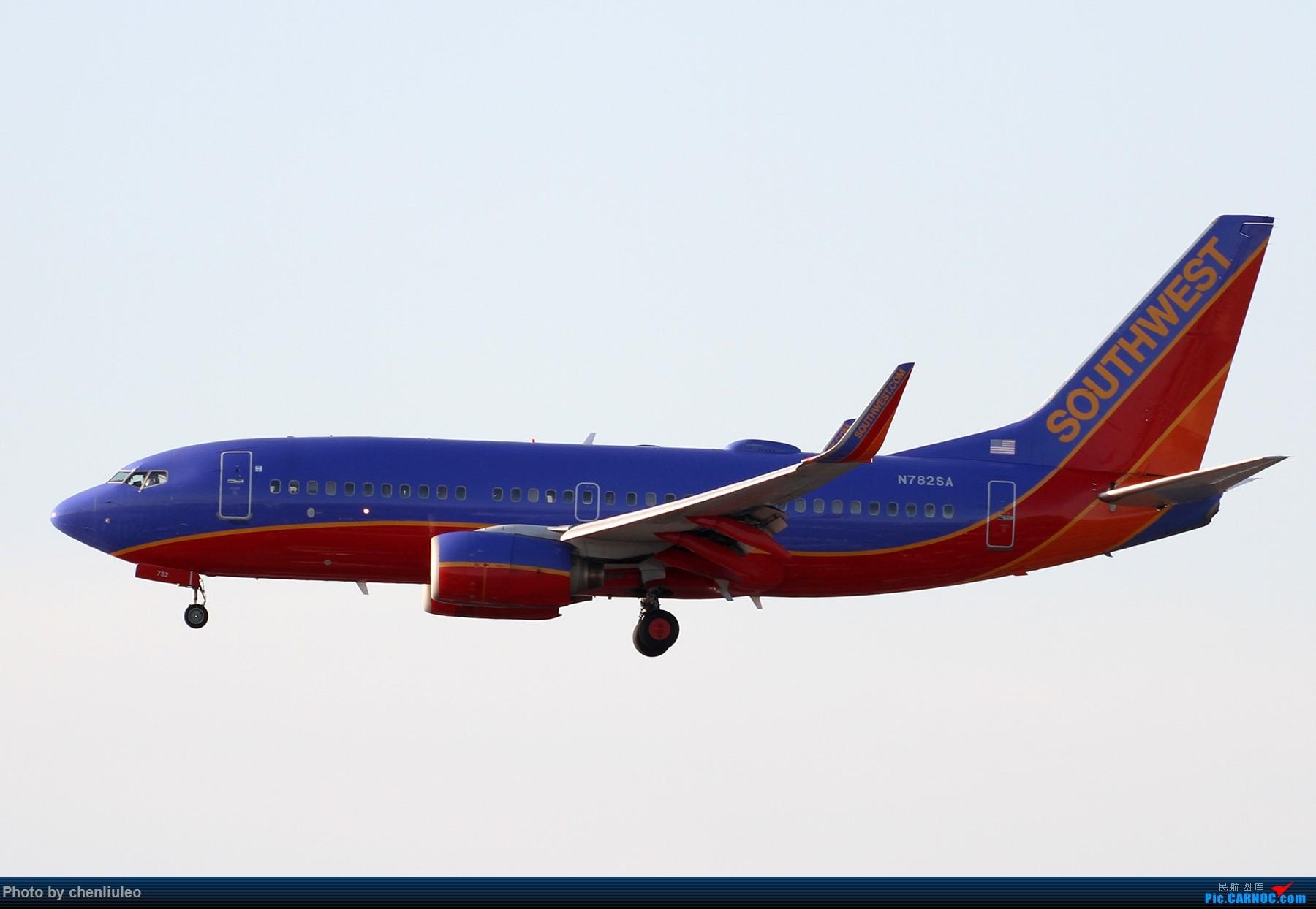 Re:[原创]【北美飞友会】洛杉矶世界机场黄昏随拍 BOEING 737-700 N782SA 美国洛杉矶机场