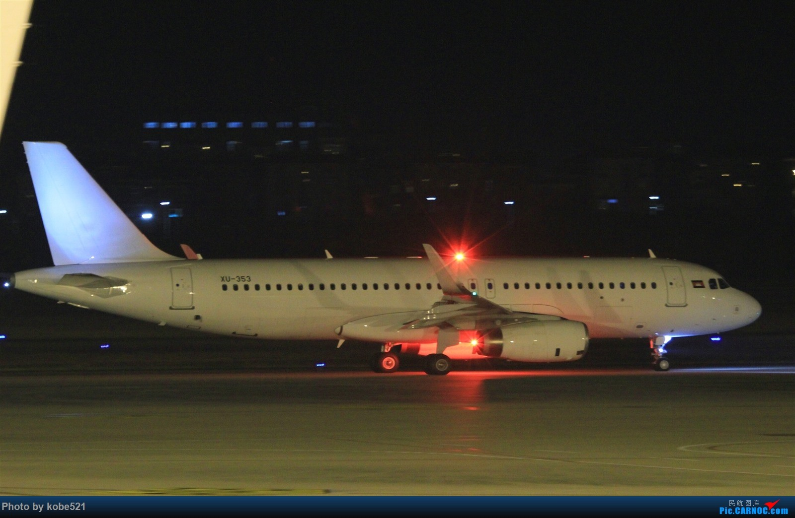 Re:撸一把夜景~ A320 XU-353 中国杭州萧山国际机场