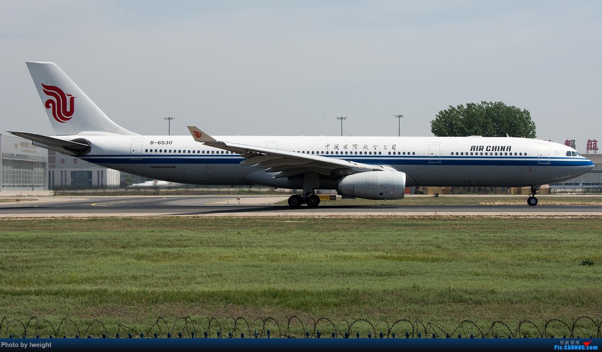 Re:[原创]天气晴朗,继续守候18R【多图】 AIRBUS A330-300 B-6530 中国北京首都国际机场