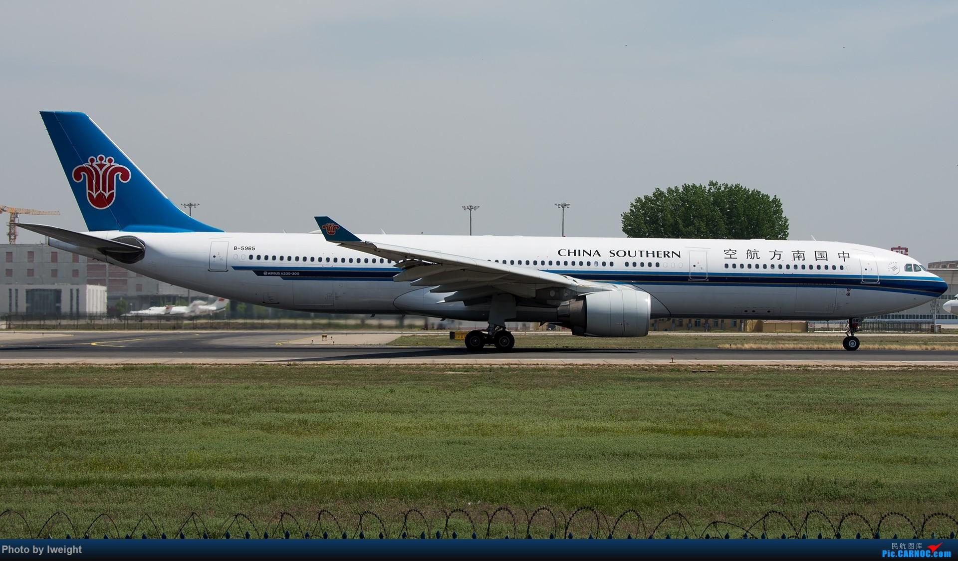 Re:[原创]天气晴朗,继续守候18R【多图】 AIRBUS A330-300 B-5965 中国北京首都国际机场