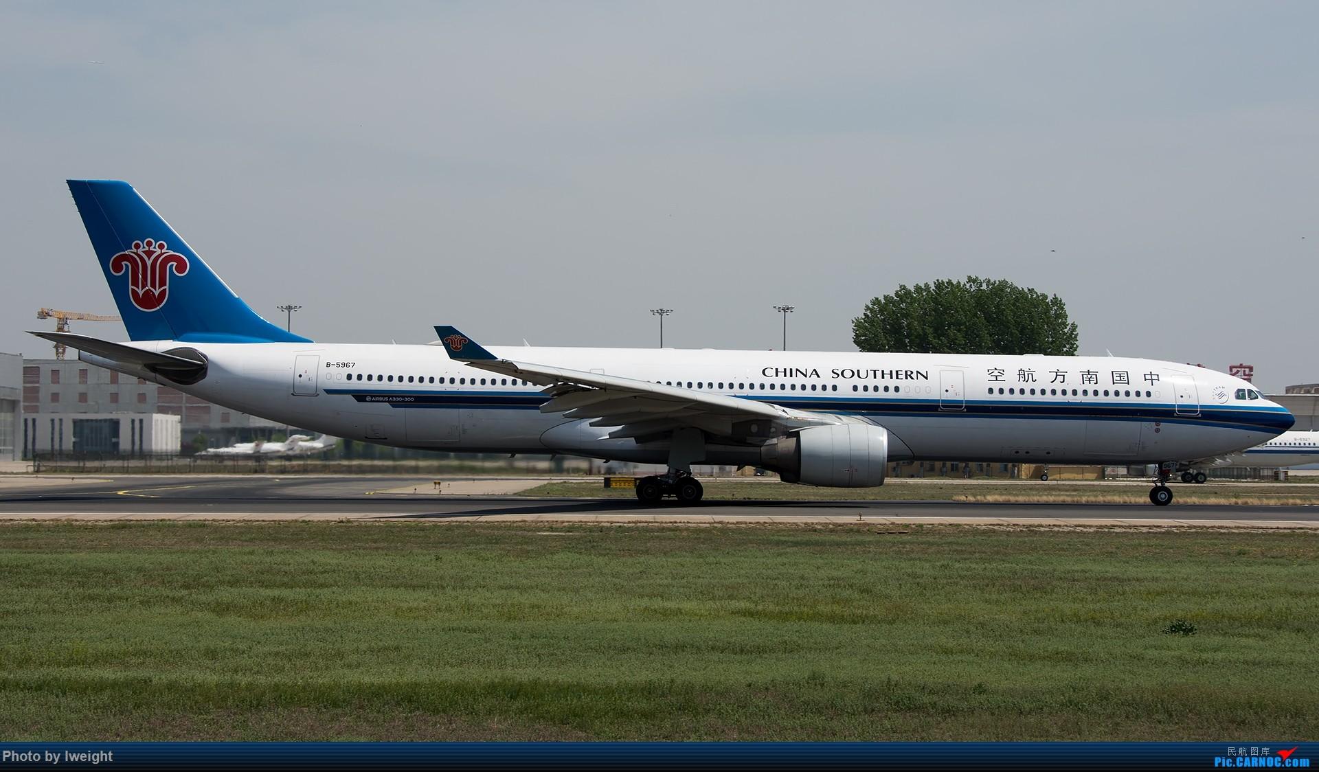 Re:[原创]天气晴朗,继续守候18R【多图】 AIRBUS A330-300 B-5967 中国北京首都国际机场