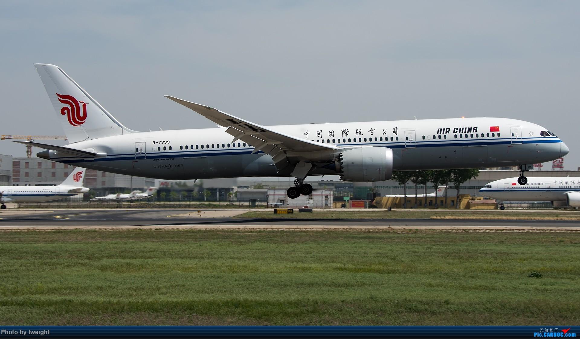 Re:[原创]天气晴朗,继续守候18R【多图】 BOEING 787-9 B-7899 中国北京首都国际机场