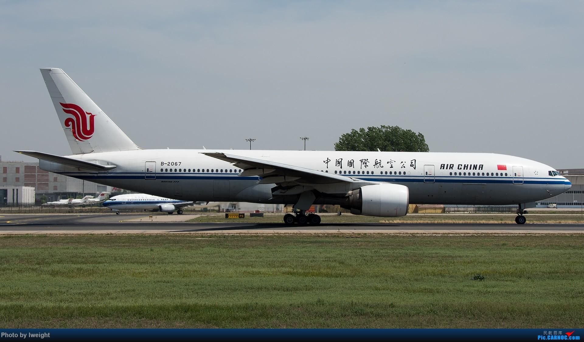 Re:[原创]天气晴朗,继续守候18R【多图】 BOEING 777-200 B-2067 中国北京首都国际机场