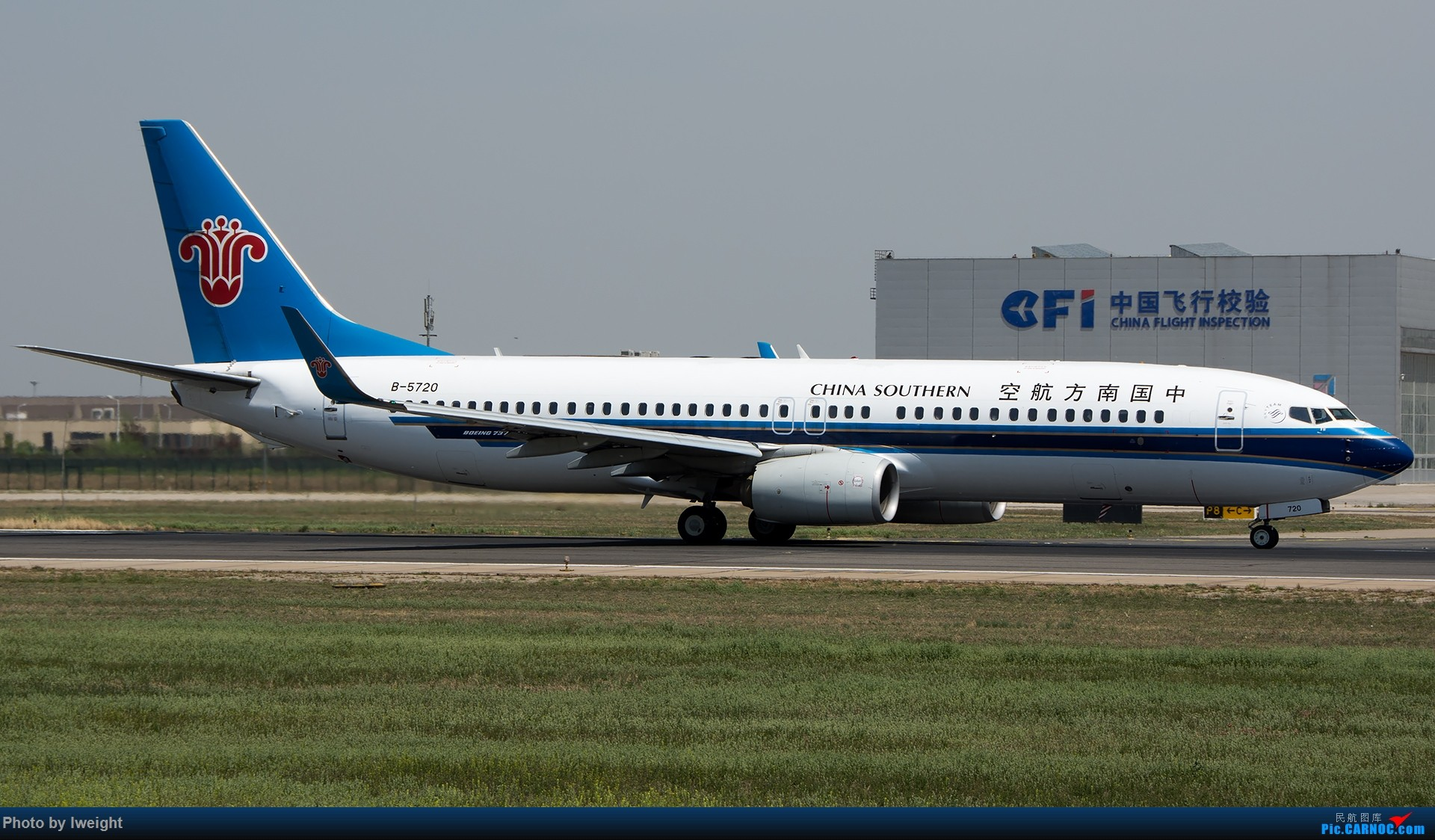 Re:[原创]天气晴朗,继续守候18R【多图】 BOEING 737-800 B-5720 中国北京首都国际机场
