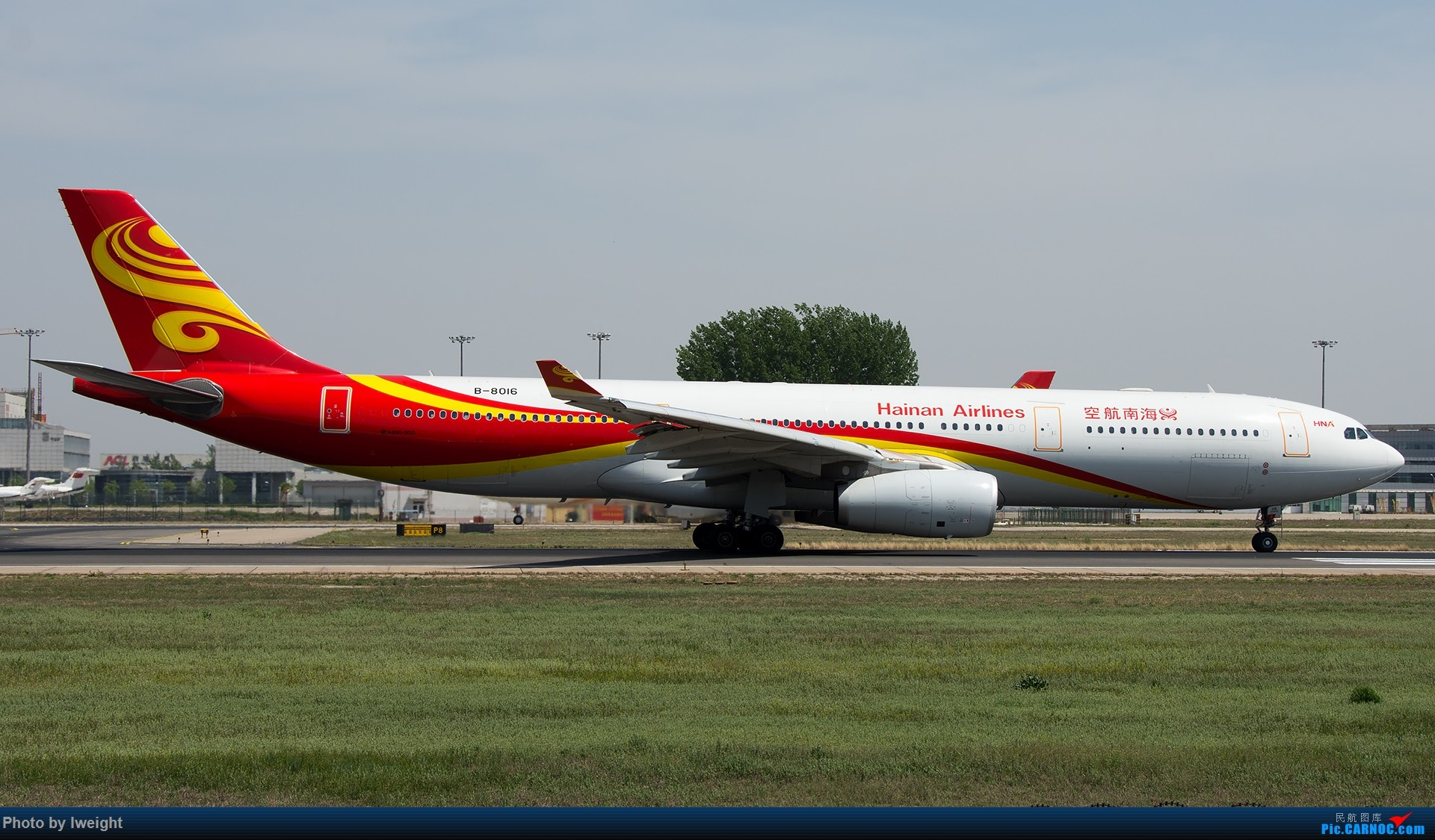 Re:[原创]天气晴朗,继续守候18R【多图】 AIRBUS A330-300 B-8016 中国北京首都国际机场