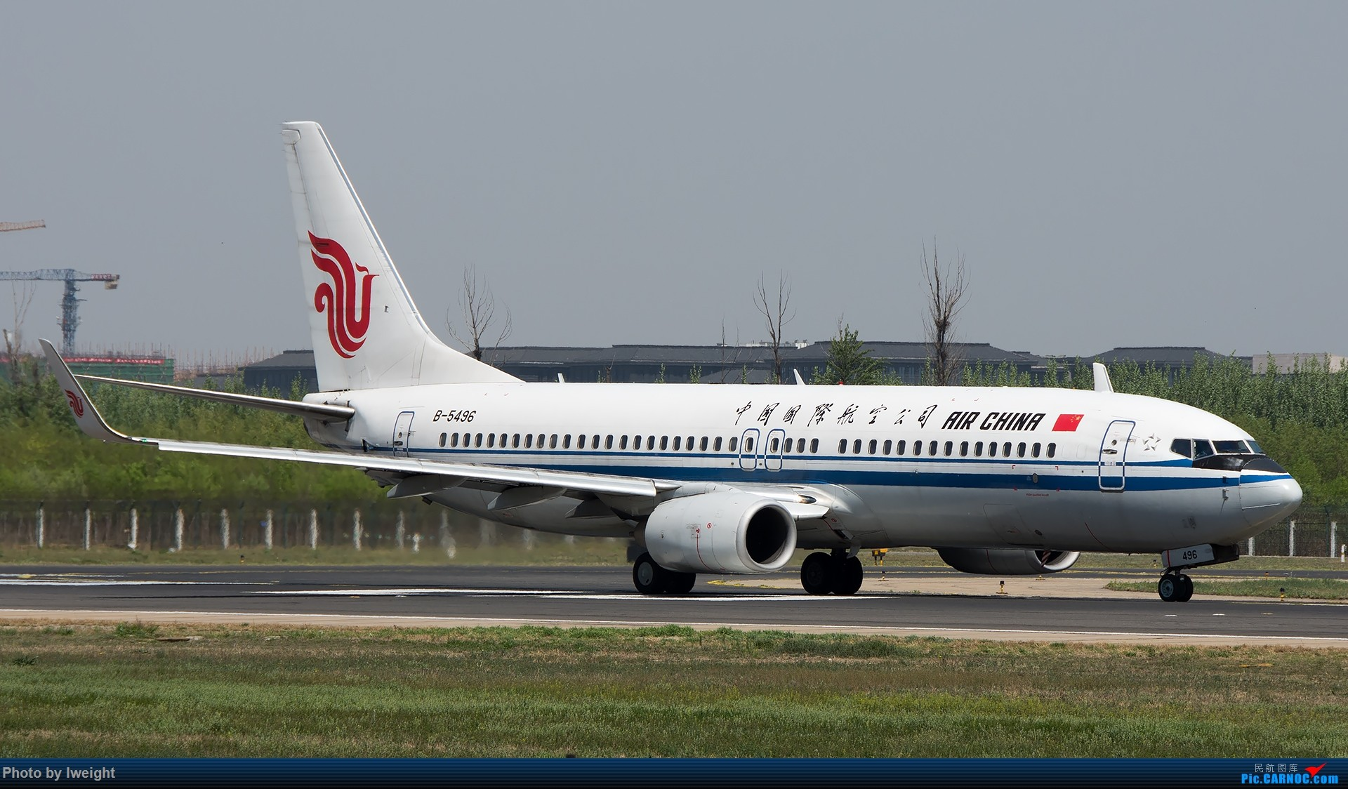 Re:[原创]天气晴朗,继续守候18R【多图】 BOEING 737-800 B-5496 中国北京首都国际机场