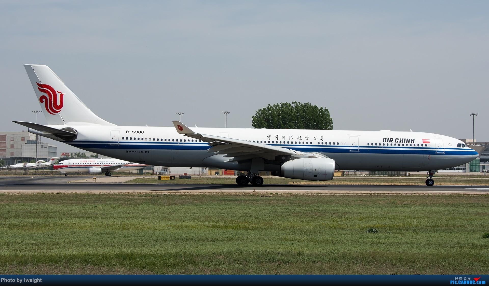 Re:[原创]天气晴朗,继续守候18R【多图】 AIRBUS A330-300 B-5906 中国北京首都国际机场