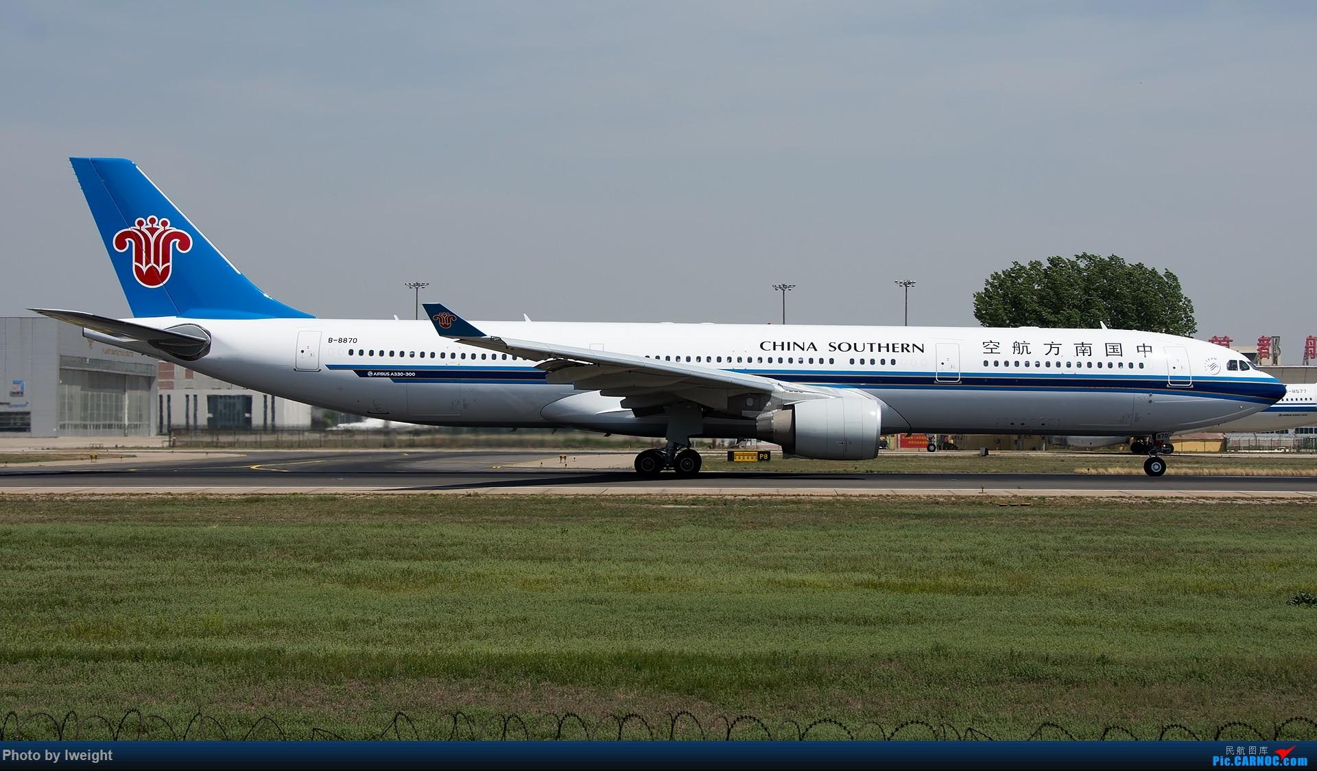 Re:[原创]天气晴朗,继续守候18R【多图】 AIRBUS A330-300 B-8870 中国北京首都国际机场