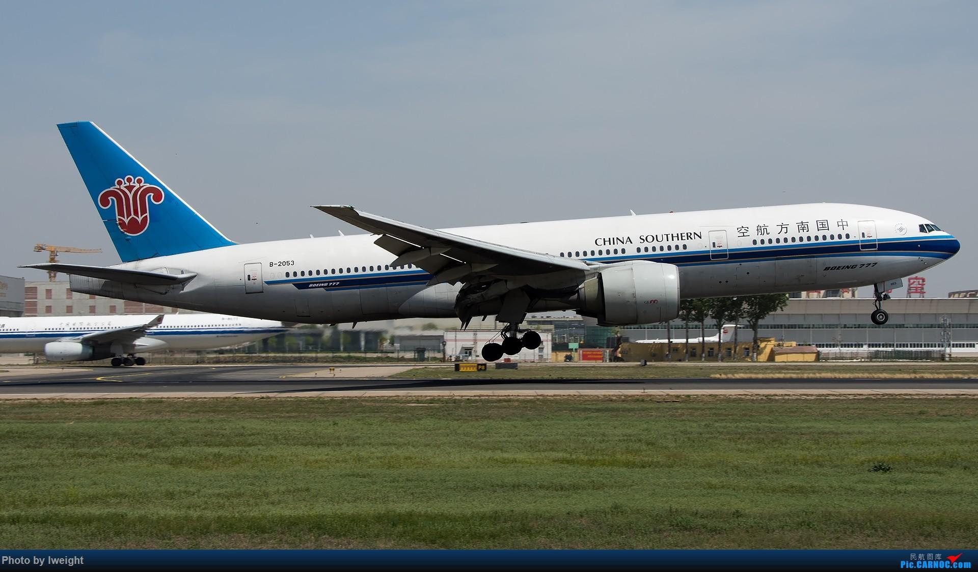 Re:[原创]天气晴朗,继续守候18R【多图】 BOEING 777-200 B-2053 中国北京首都国际机场