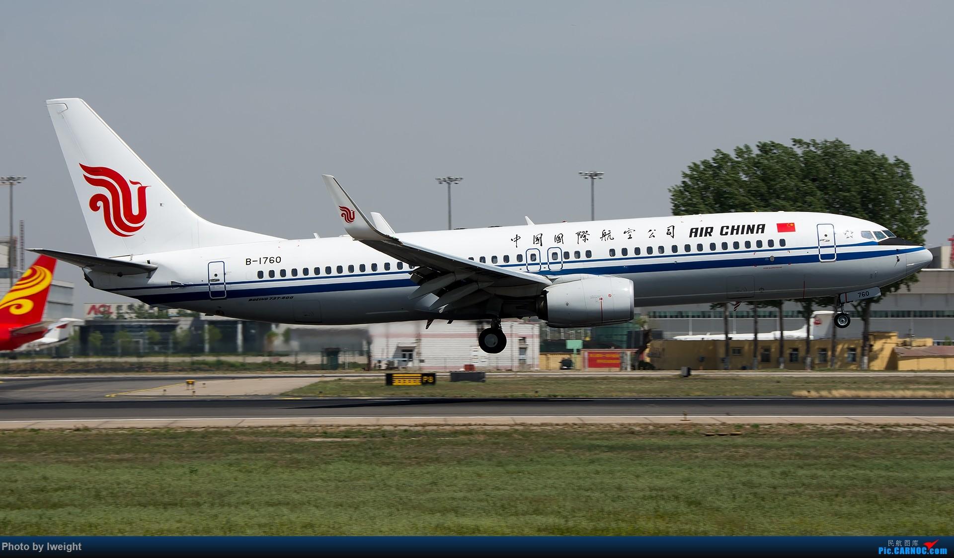 Re:[原创]天气晴朗,继续守候18R【多图】 BOEING 737-800 B-1760 中国北京首都国际机场