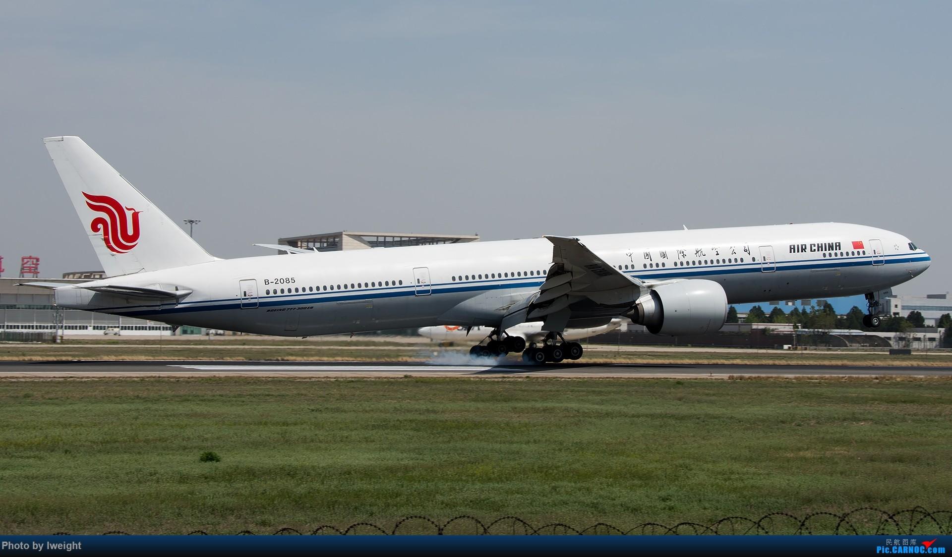 Re:[原创]天气晴朗,继续守候18R【多图】 BOEING 777-300ER B-2085 中国北京首都国际机场
