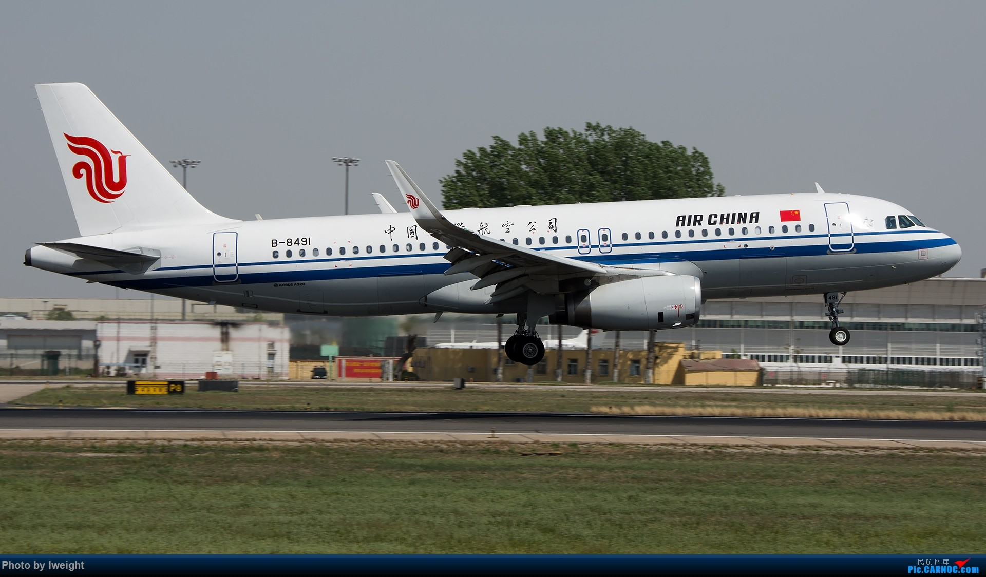 Re:[原创]天气晴朗,继续守候18R【多图】 AIRBUS A320-200 B-8491 中国北京首都国际机场