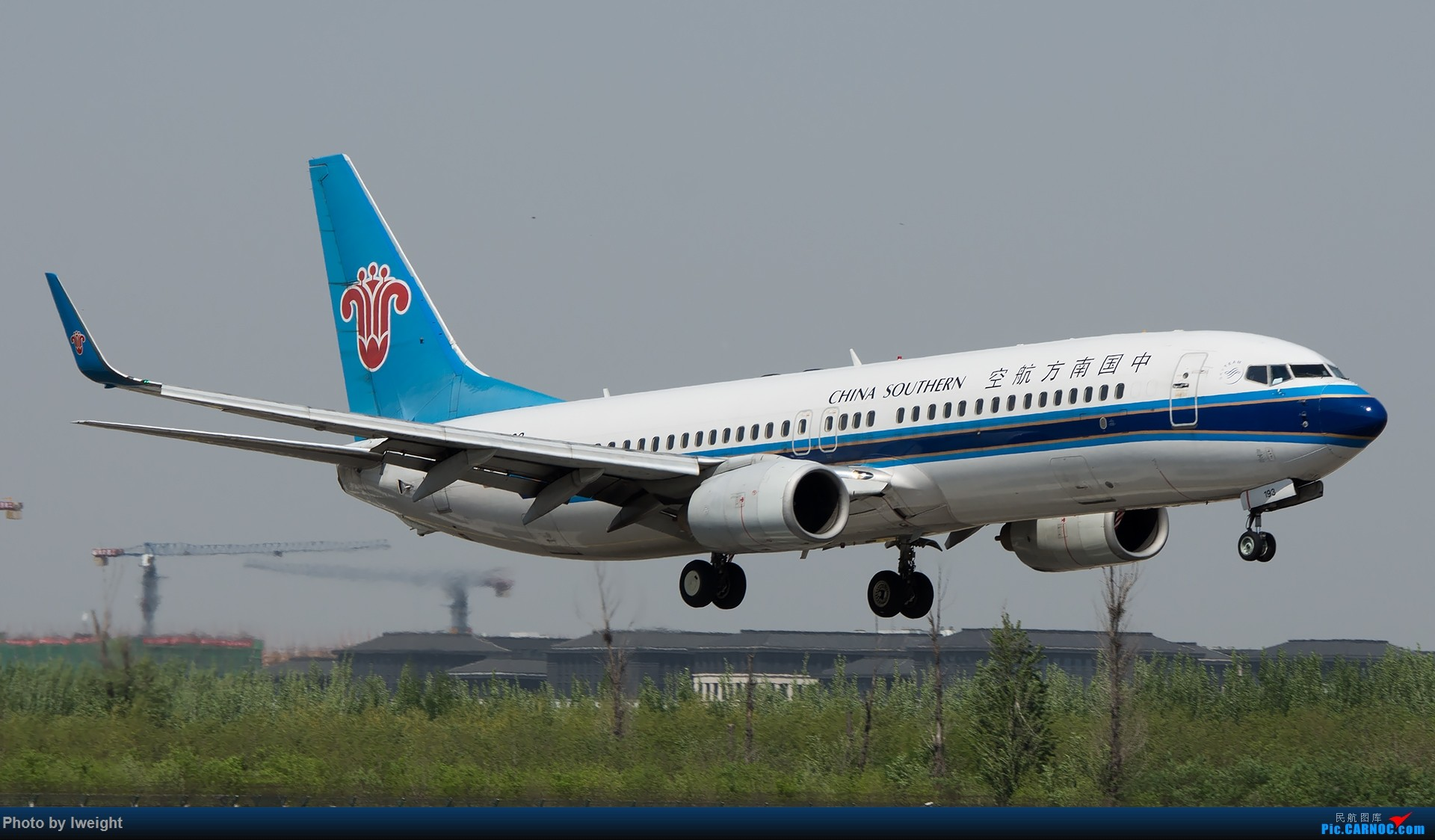 Re:[原创]天气晴朗,继续守候18R【多图】 BOEING 737-800 B-5193 中国北京首都国际机场