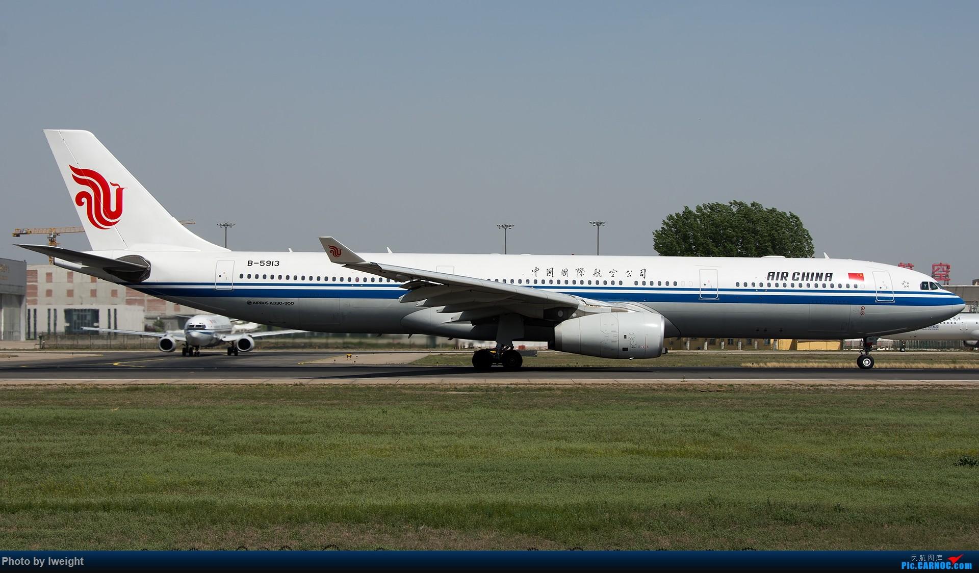 Re:[原创]天气晴朗,继续守候18R【多图】 AIRBUS A330-300 B-5913 中国北京首都国际机场
