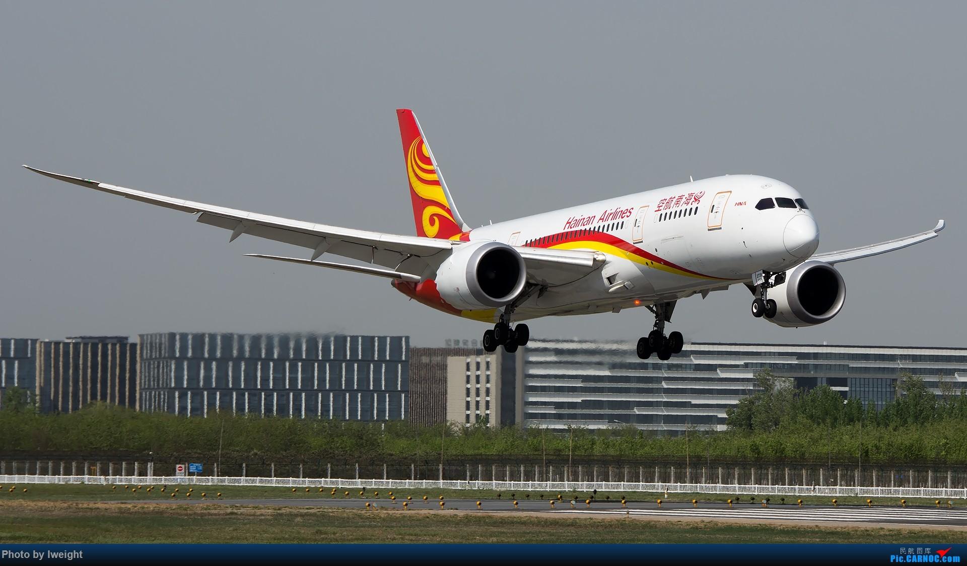 Re:[原创]天气晴朗,继续守候18R【多图】 BOEING 787-8 B-2739 中国北京首都国际机场