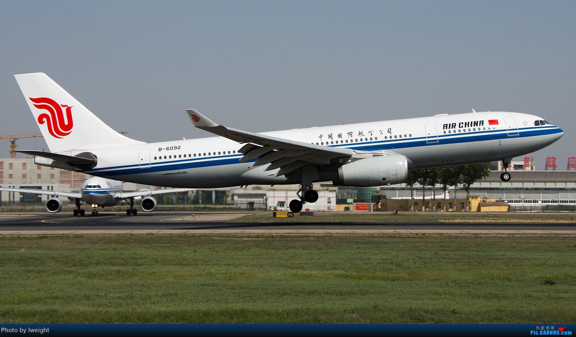 Re:[原创]天气晴朗,继续守候18R【多图】 AIRBUS A330-200 B-6092 中国北京首都国际机场