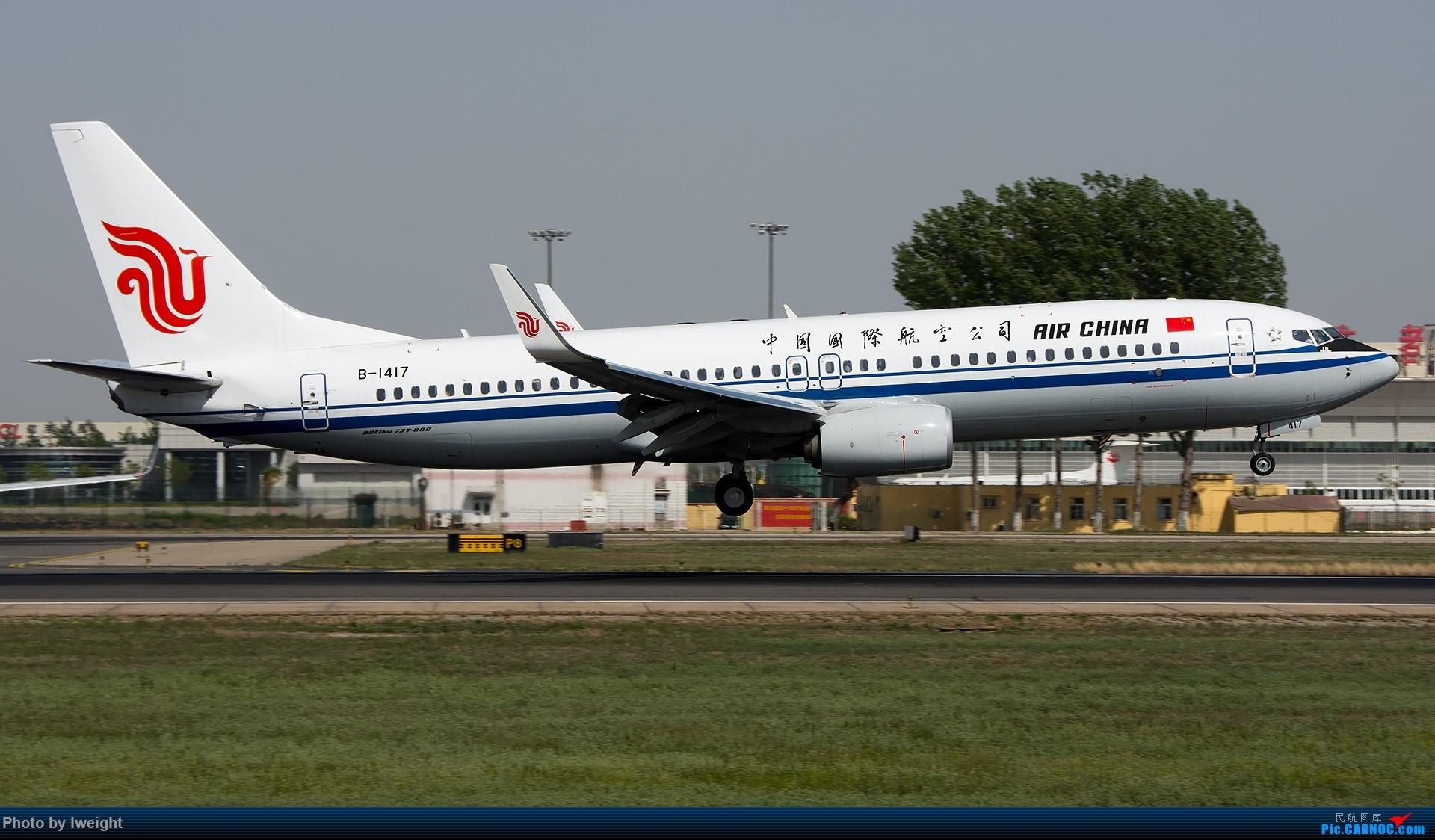 Re:[原创]天气晴朗,继续守候18R【多图】 BOEING 737-800 B-1417 中国北京首都国际机场