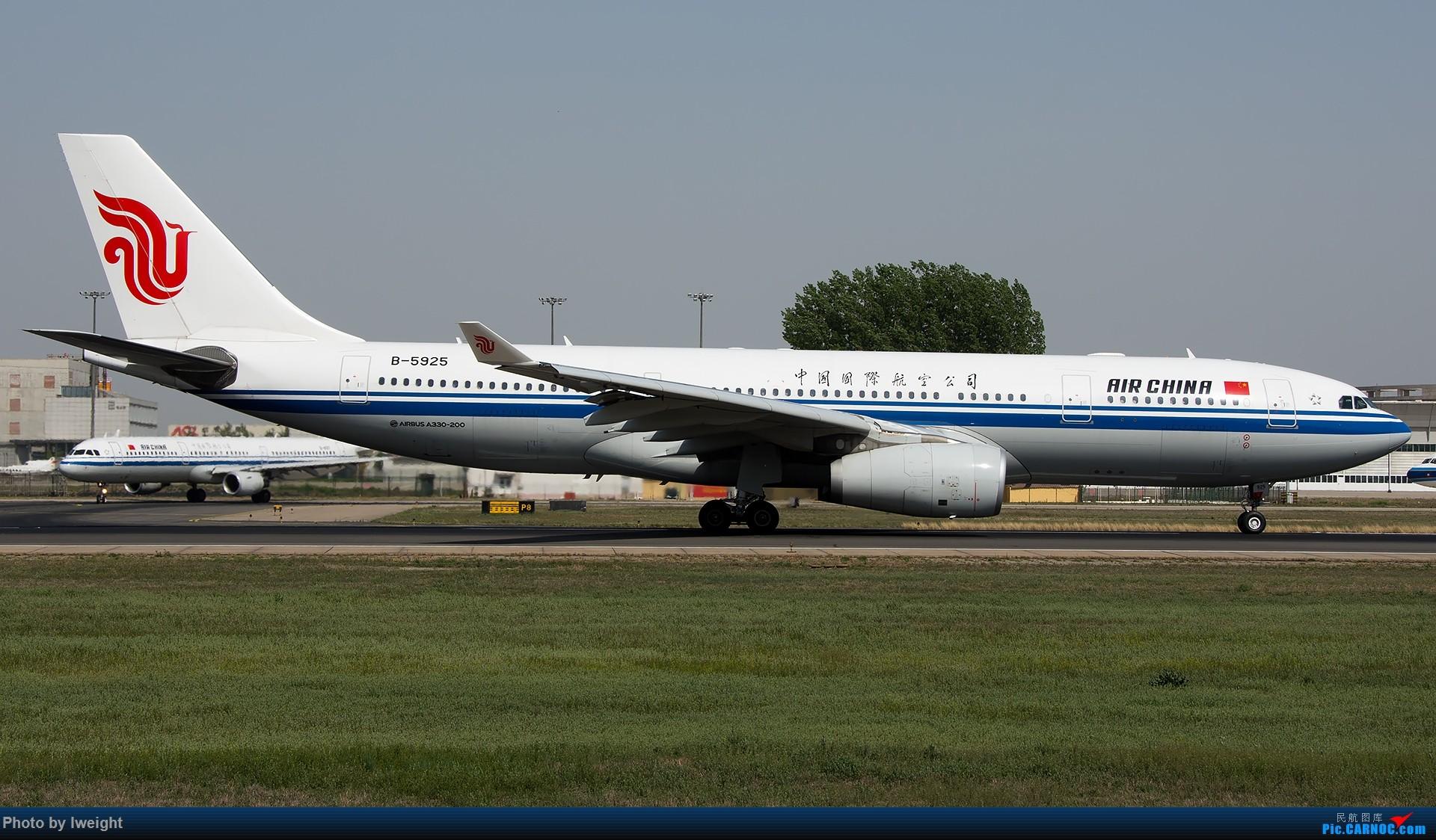 Re:[原创]天气晴朗,继续守候18R【多图】 AIRBUS A330-200 B-5925 中国北京首都国际机场